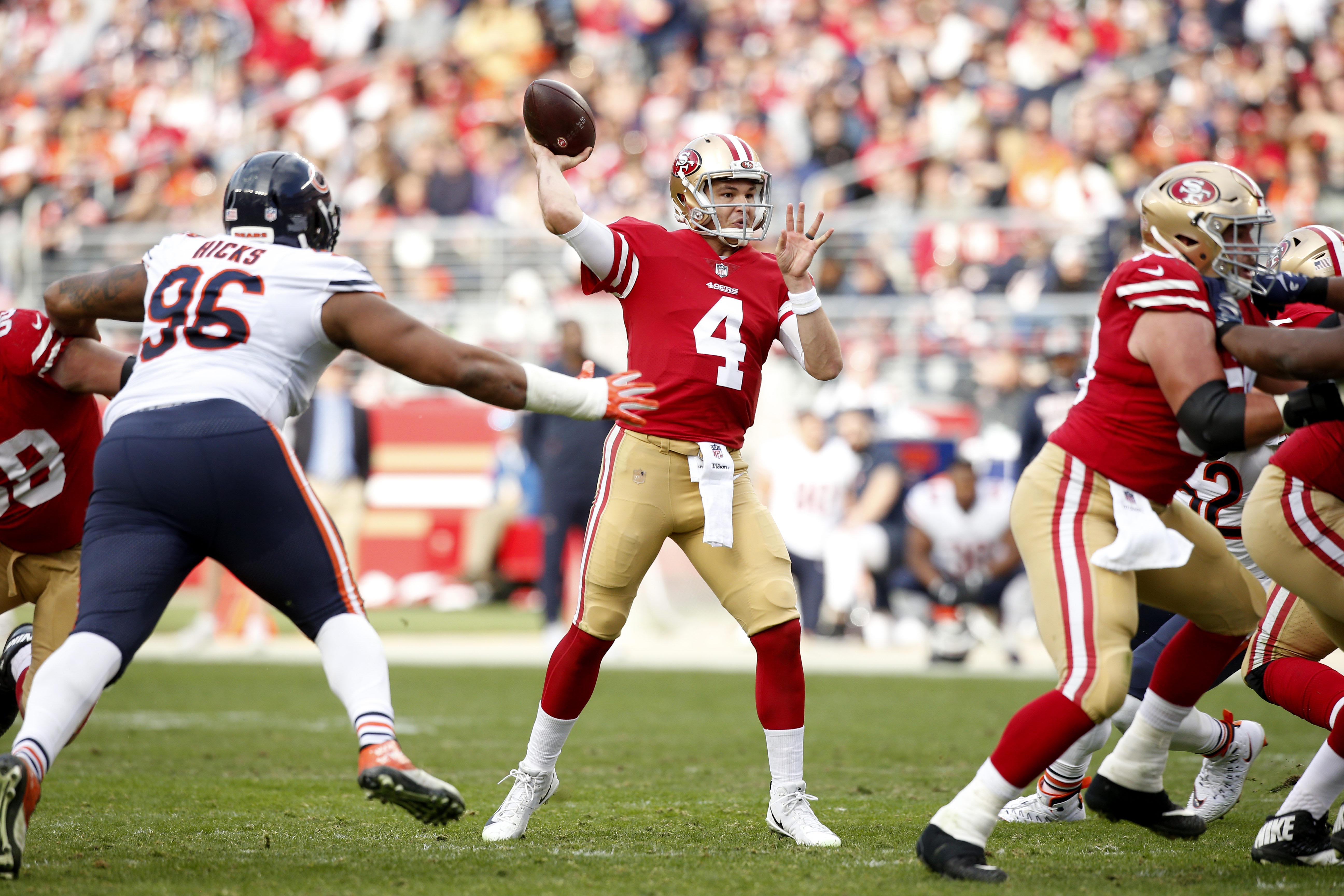 NFL: Chicago Bears at San Francisco 49ers