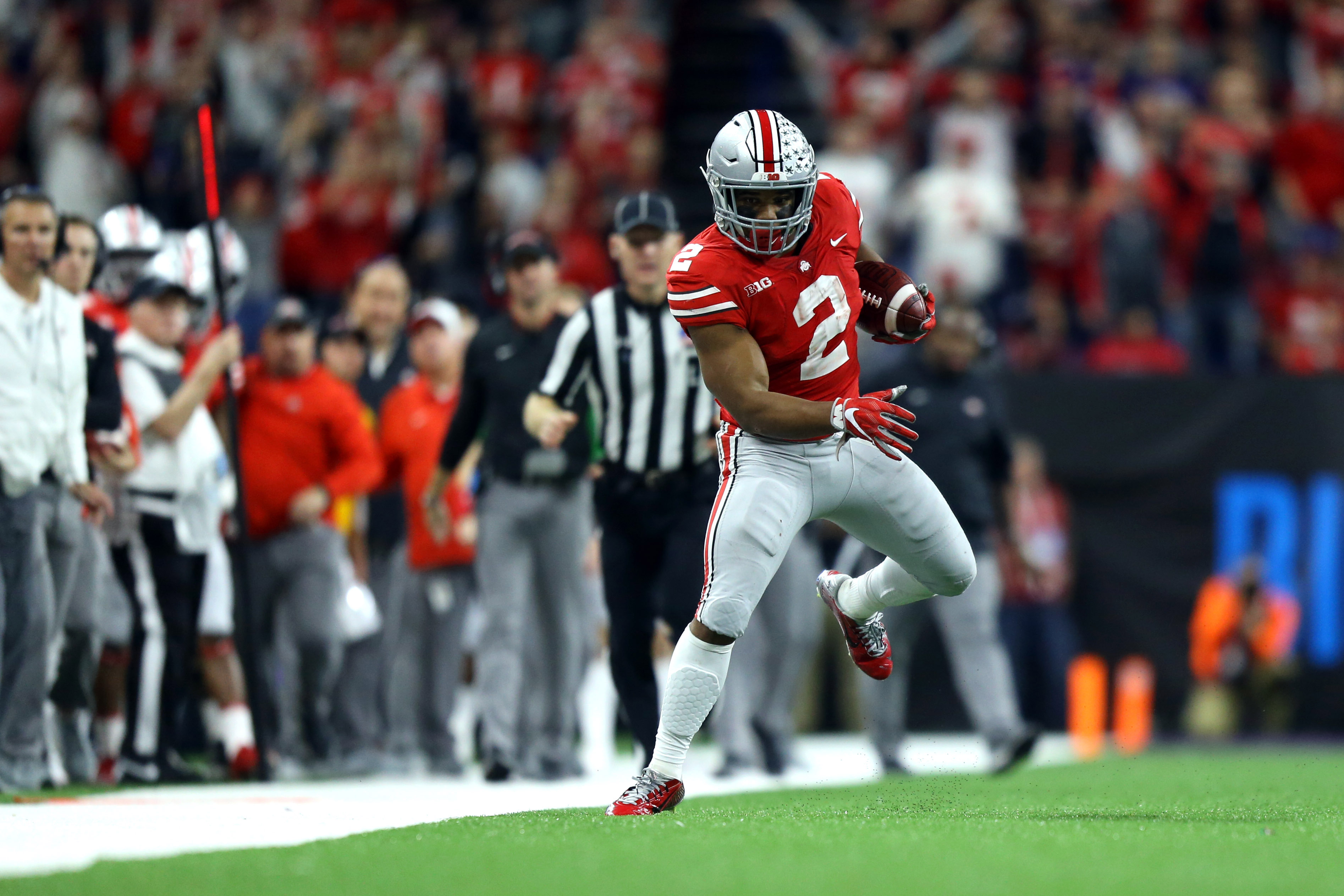 super popular d0075 3f92b Ohio State's J.K. Dobbins and Mike Weber see value in shared ...
