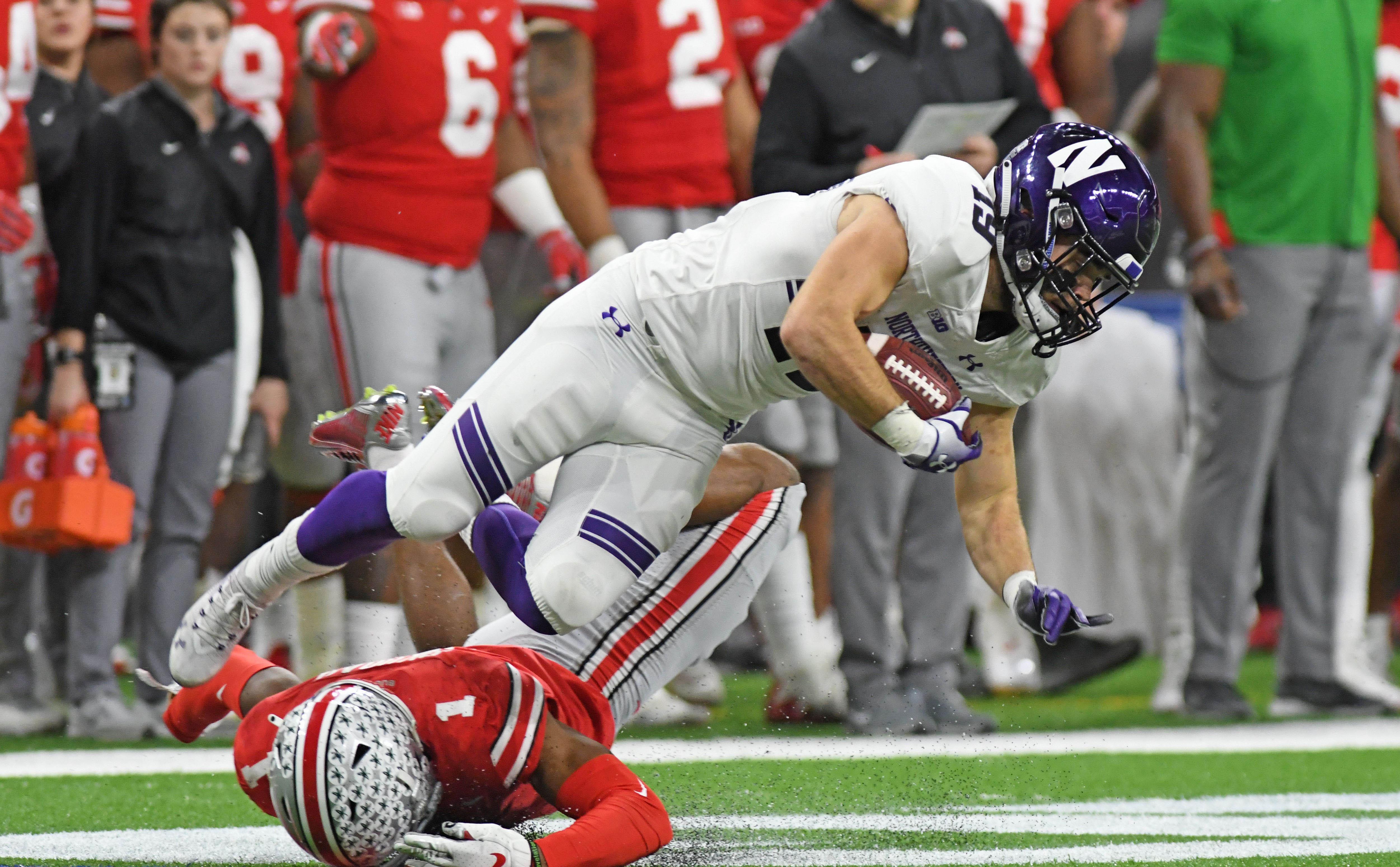 NCAA Football: Big Ten Conference-Football Championship-Northwestern vs Ohio State