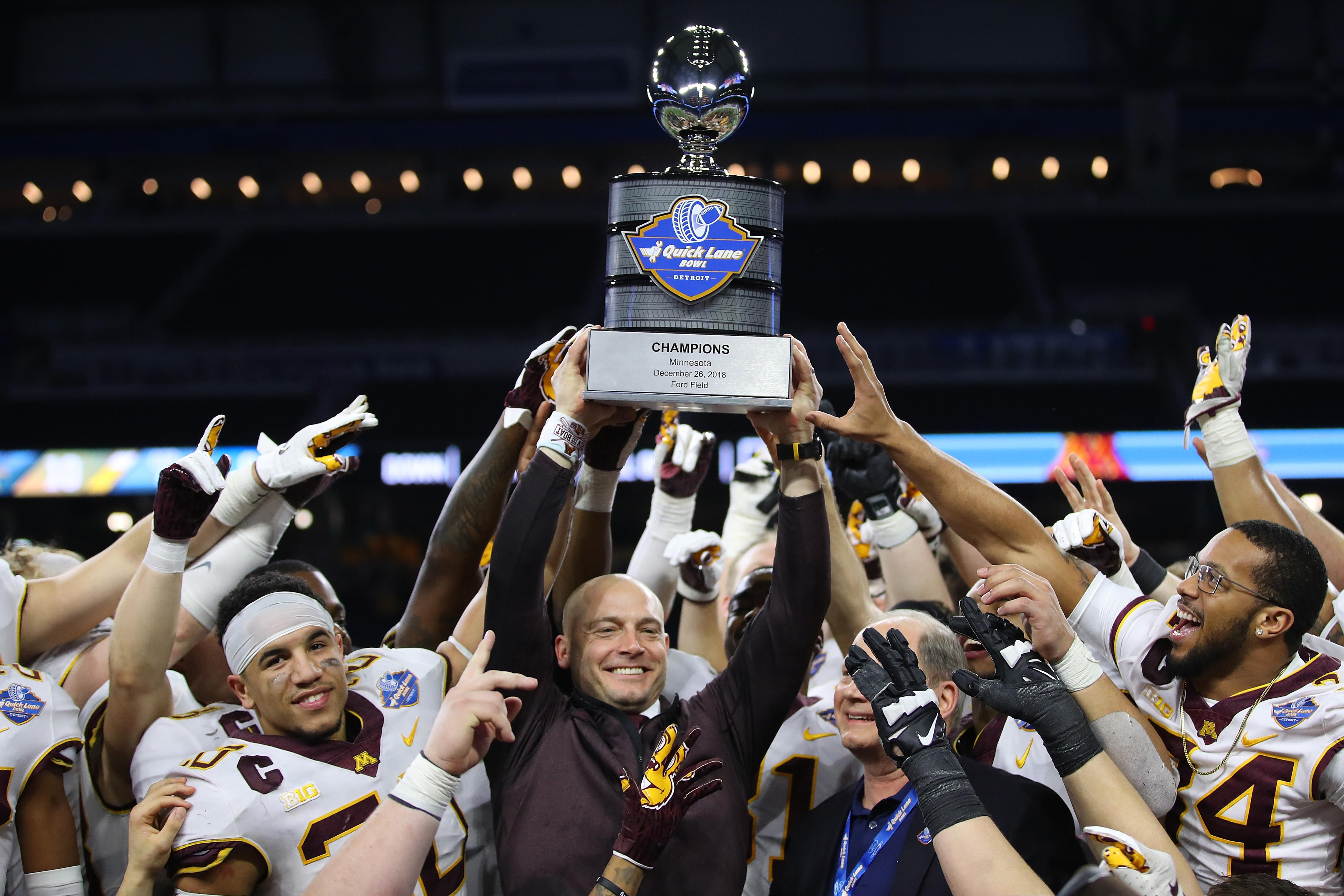 Quick Lane Bowl - Minnesota v Georgia Tech