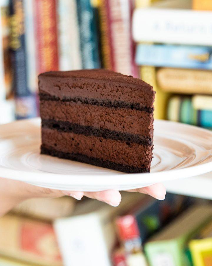 Chocolate cake from Cookbook Cafe