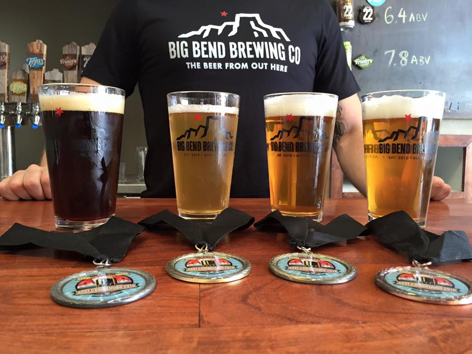 Beers from Big Bend Brewing Co.