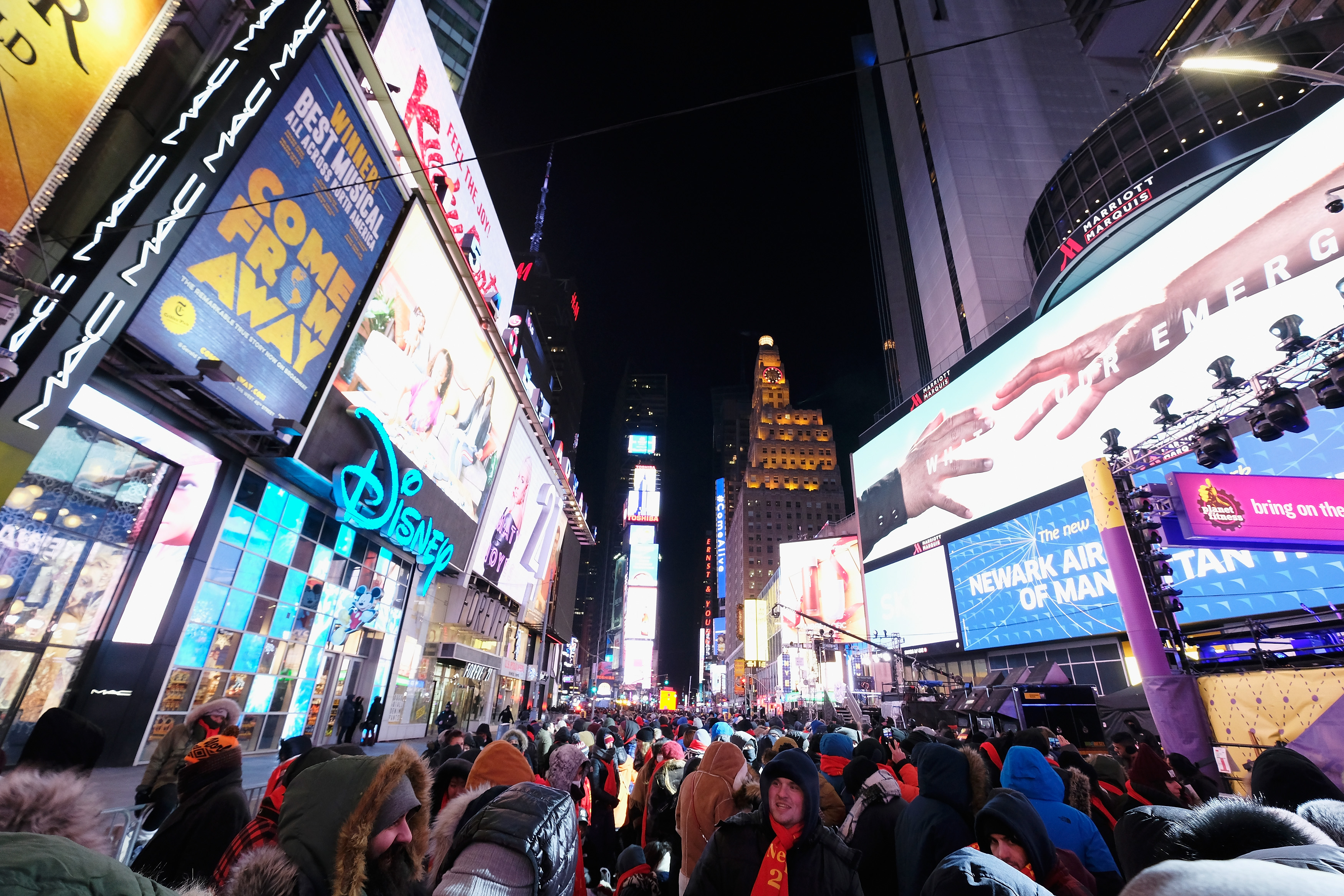 New Year's Eve 2018 in Times Square - Atmosphere