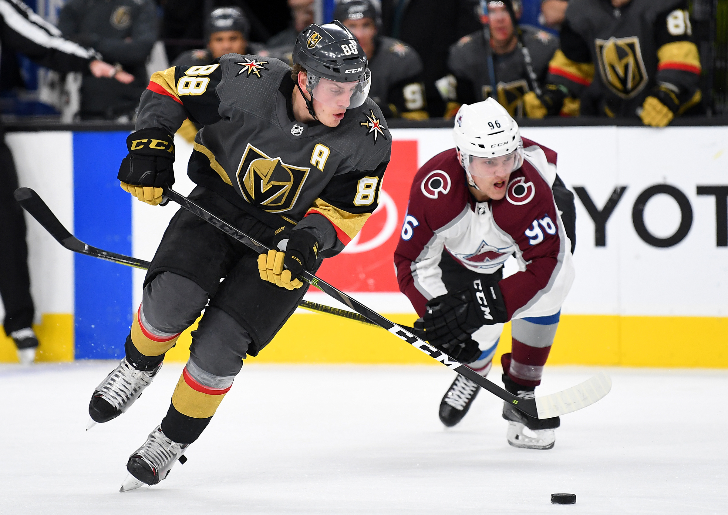 NHL: Colorado Avalanche at Vegas Golden Knights