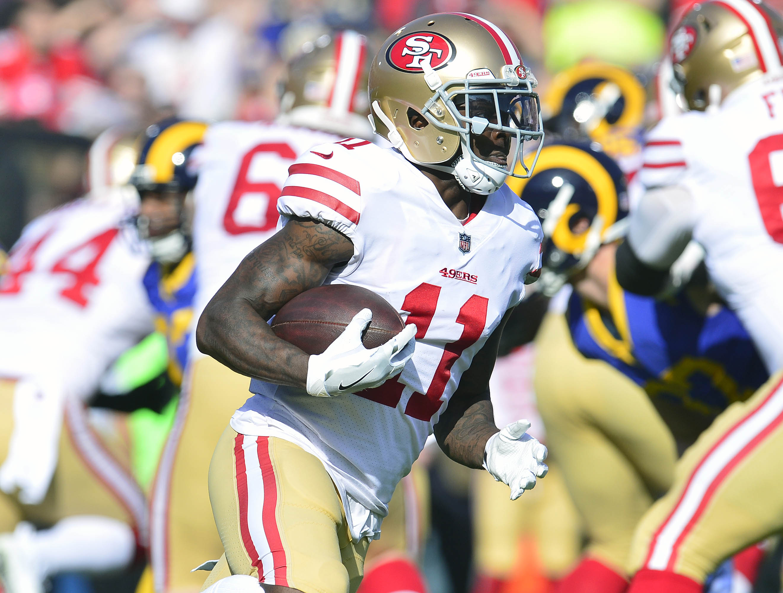 49ers Injury report  Implications against the Rams in Week 17 - Niners  Nation de786e146