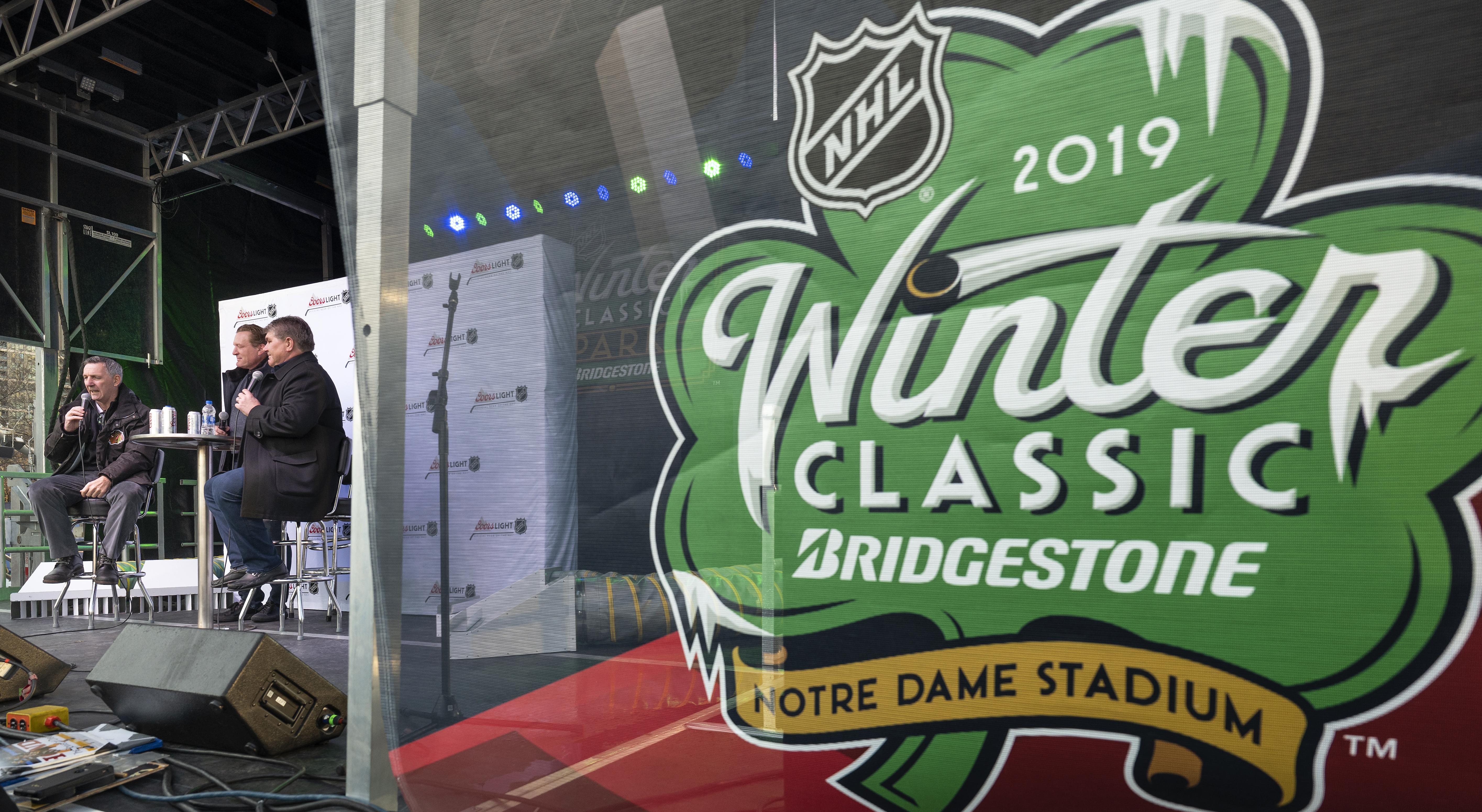 2019 Bridgestone NHL Winter Classic - NHL Winter Classic Park