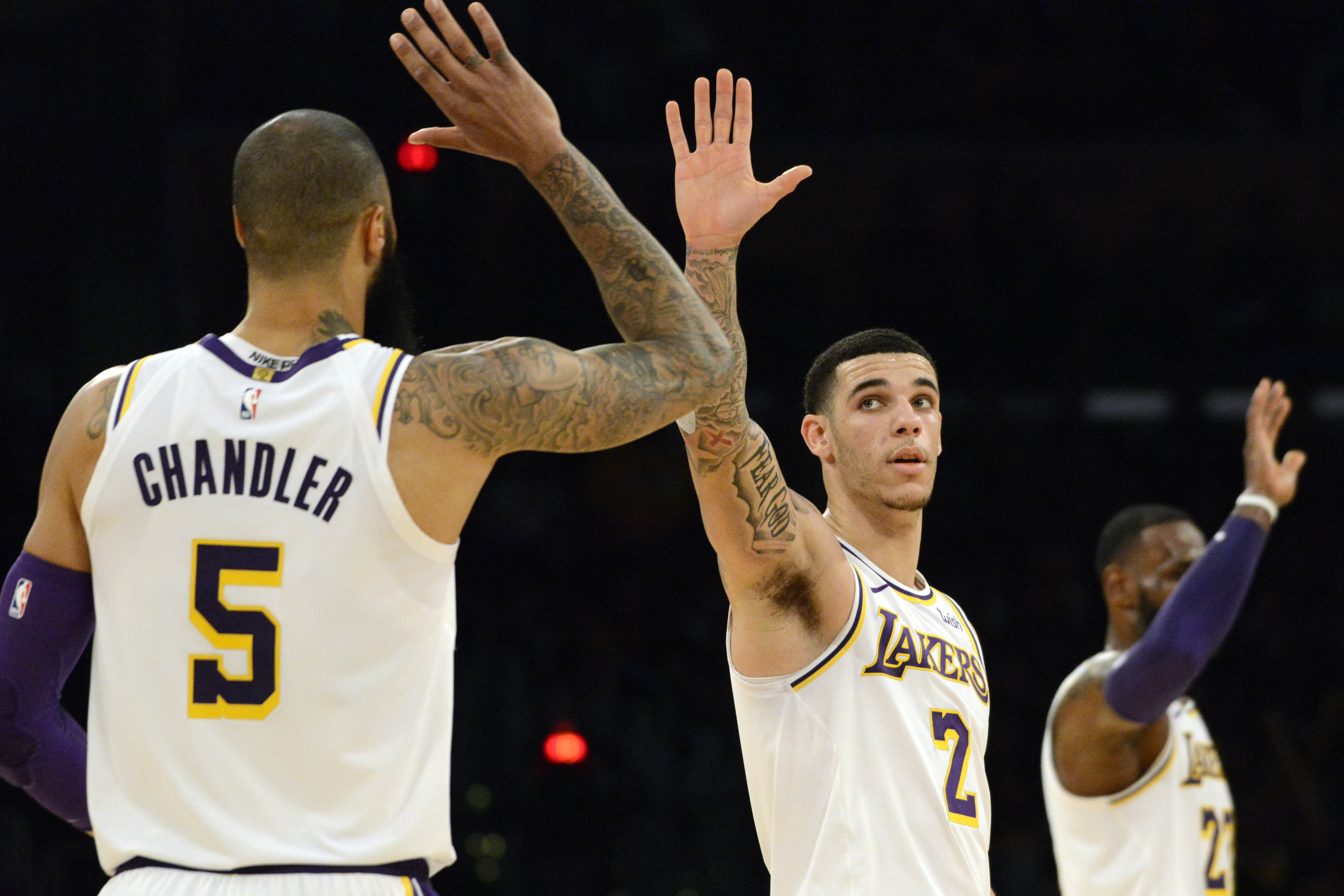 7746f45615a Tyson Chandler thinks Lonzo Ball is the player that can take the Lakers  to  the next level