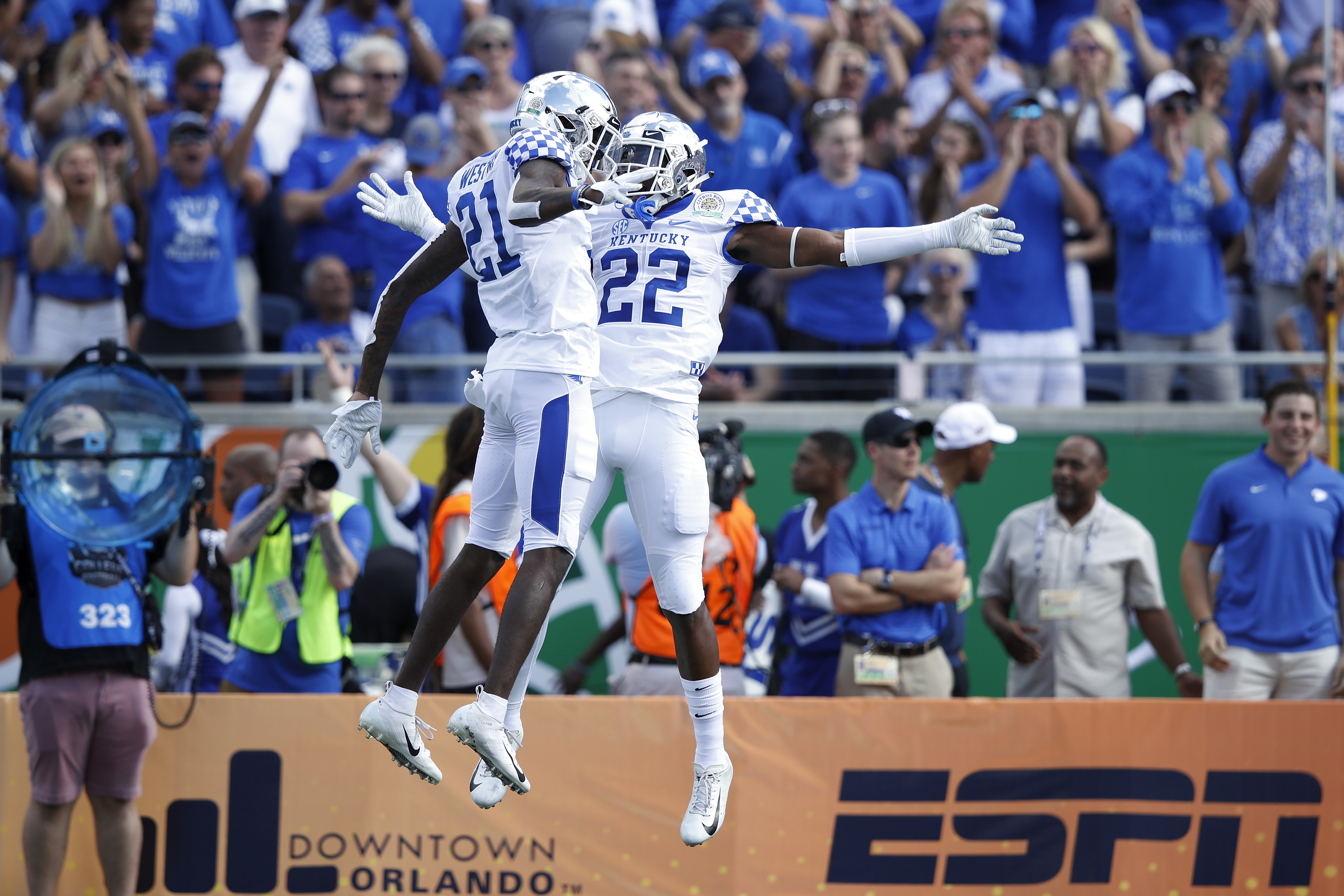 VRBO Citrus Bowl - Kentucky v Penn State