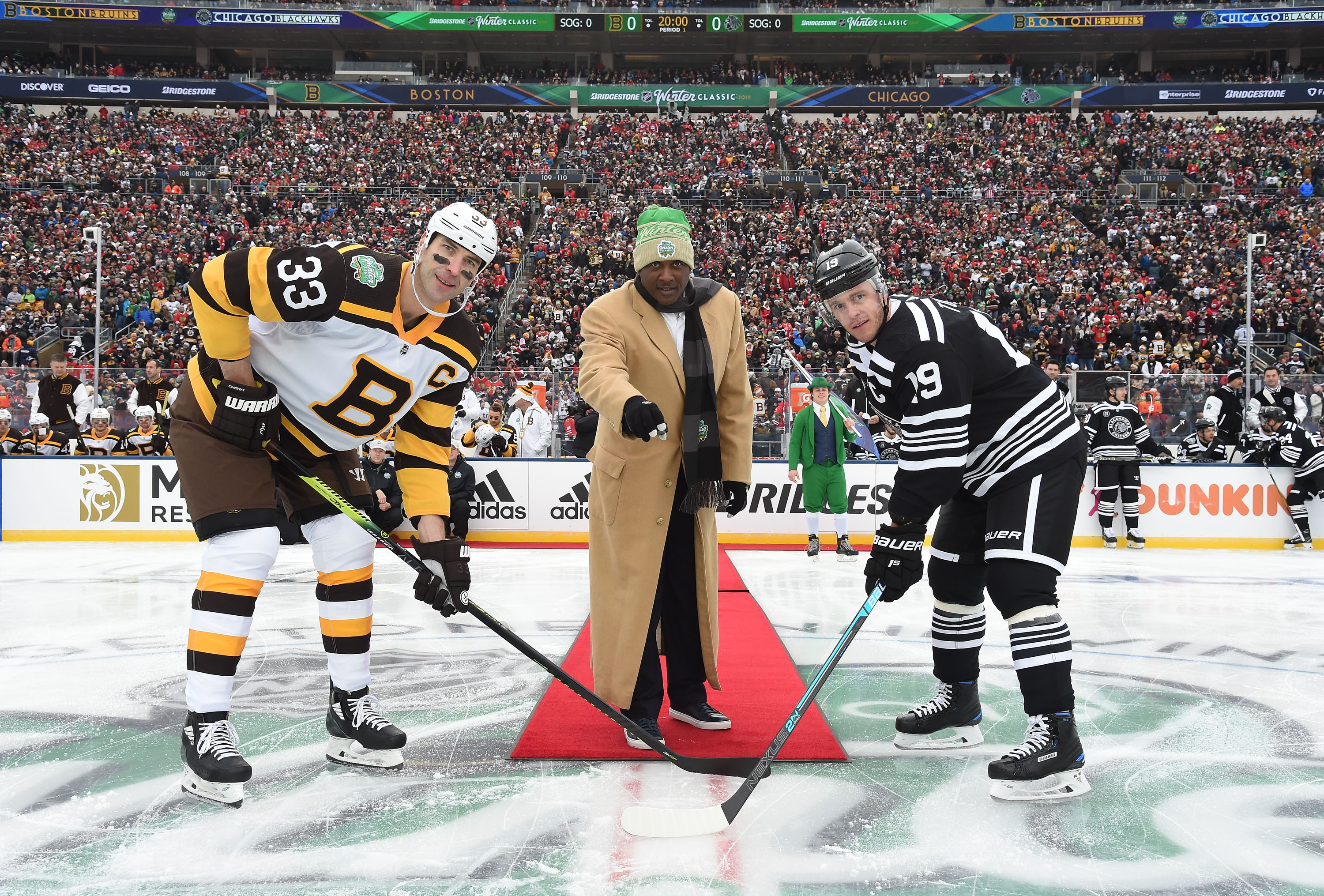 345feb8f2 Winter Classic 2019: Photo gallery from Blackhawks vs. Bruins at Notre Dame