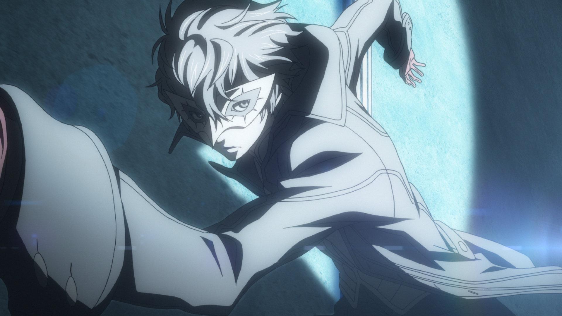 Screenshot of Joker from Persona 5