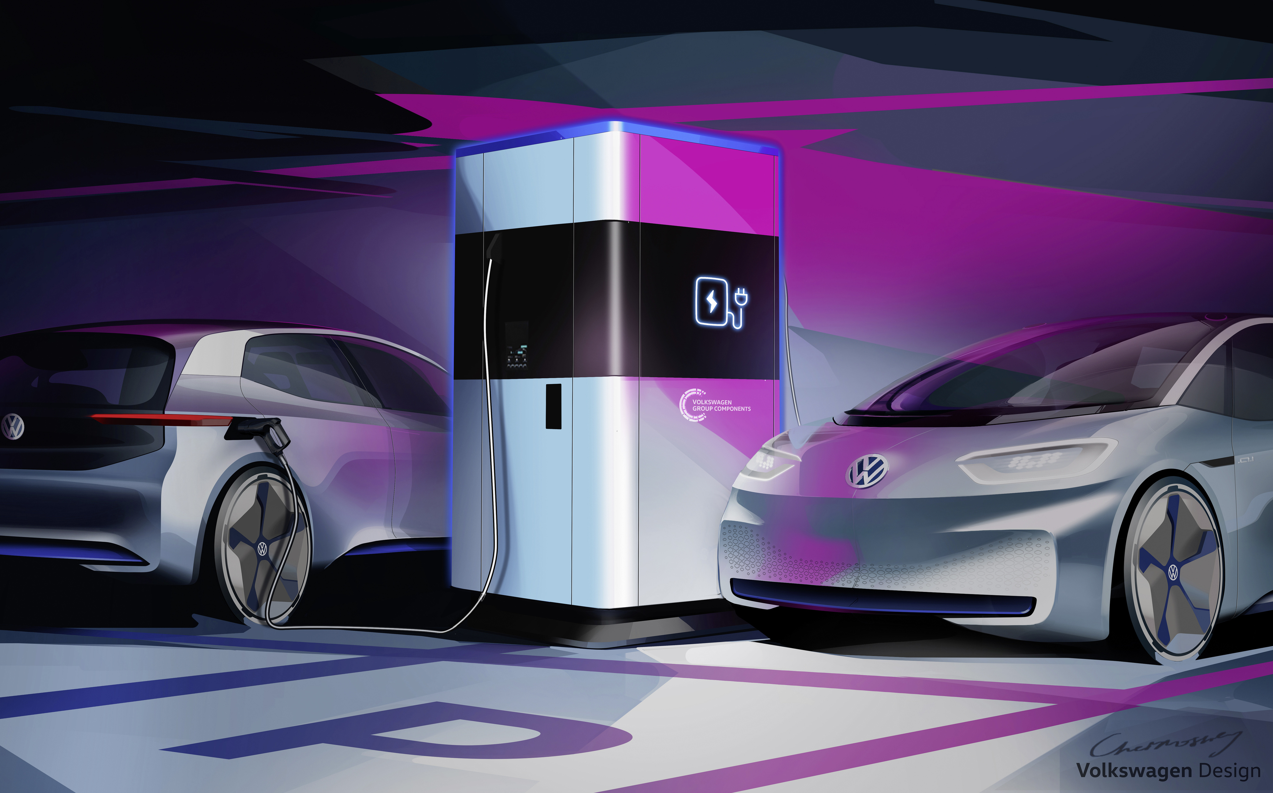 Volkswagen S Mobile Charging Station Will Help Solve A Key Problem With Evs