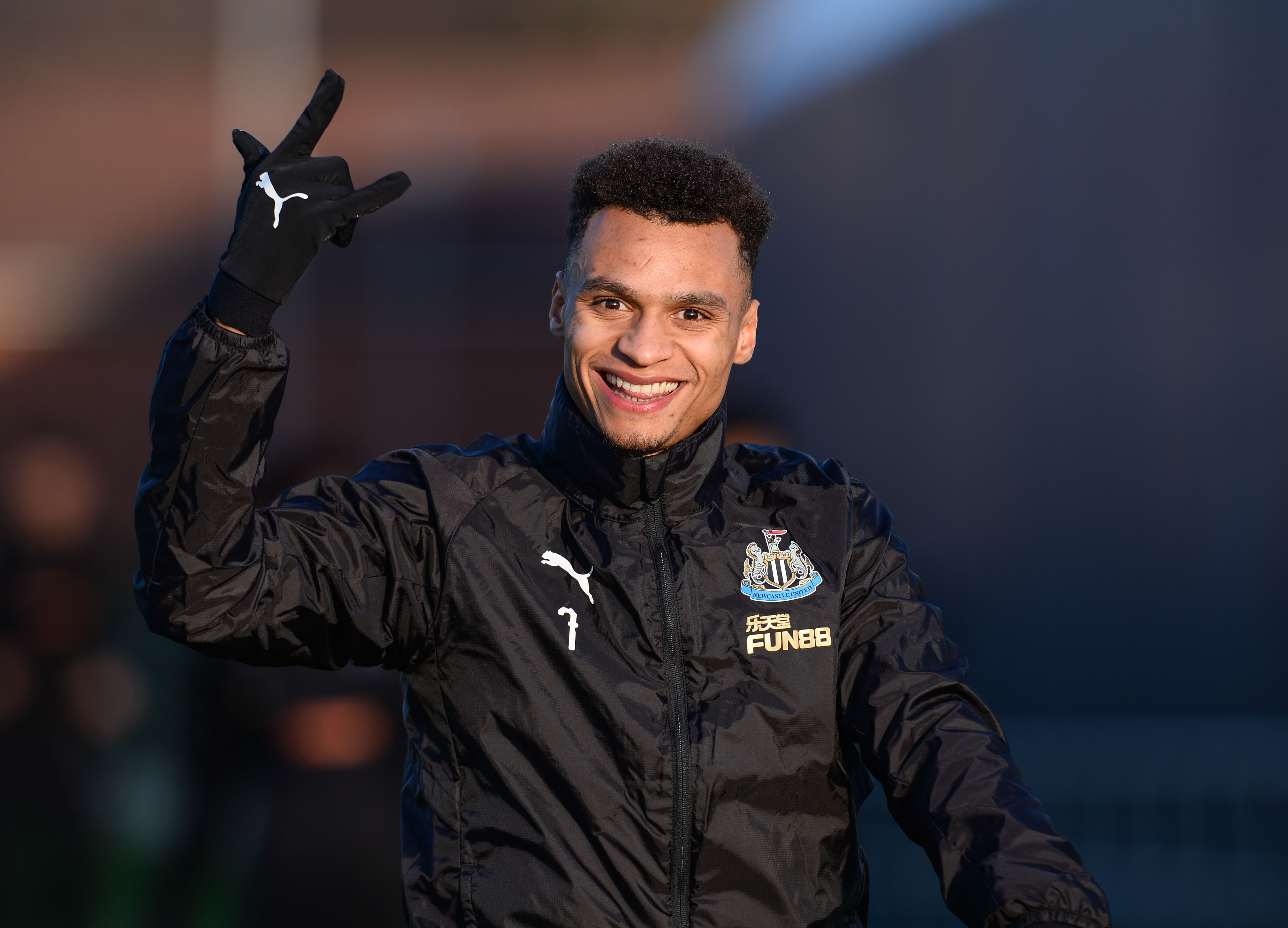 Newcastle United Training and Press Conference