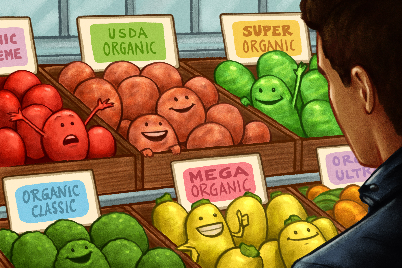 Is Organic Food Over?