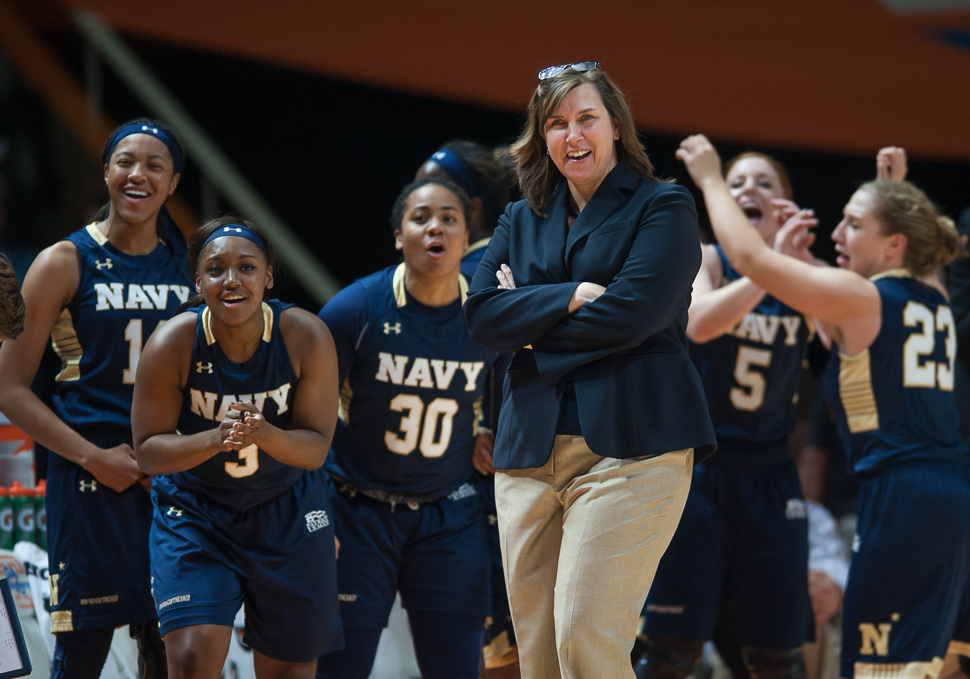 NCAA BASKETBALL: NOV 13 Women's - Navy at Tennessee (2016)