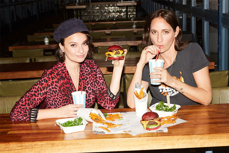 Gizzi Erskine's plant-based vegan junk food burger Filth launches in Shoreditch, London, competing with Impossible Burger and Beyond Meat