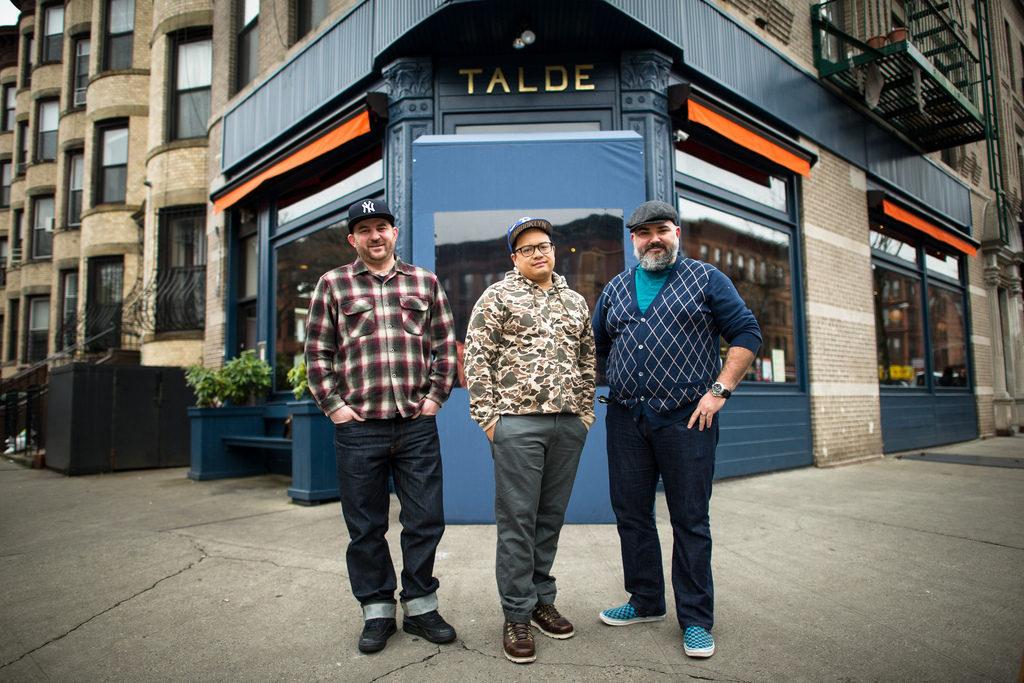 Dale Talde, John Bush, and David Massoni