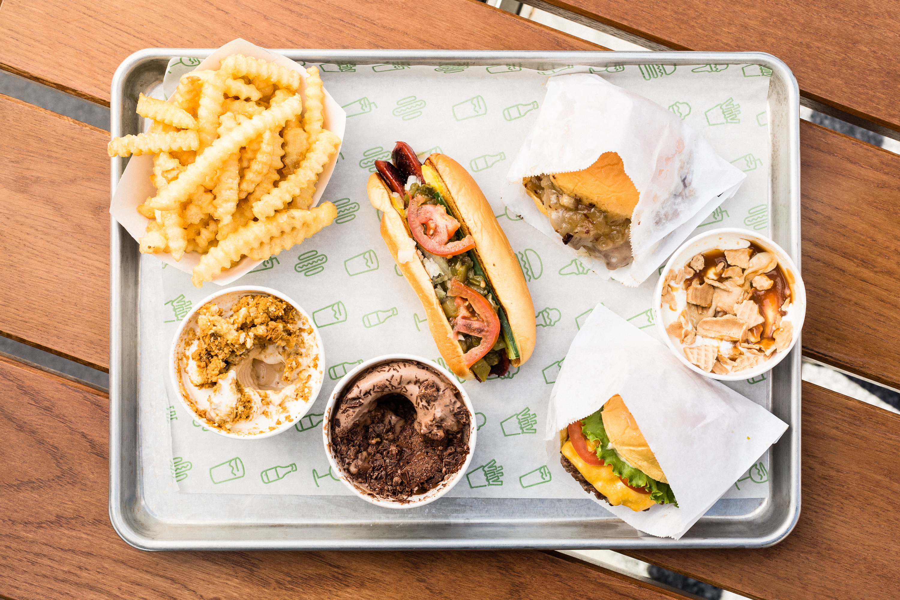 Shake Shack Finally Brings Decent Burgers to DFW Airport's Terminal C