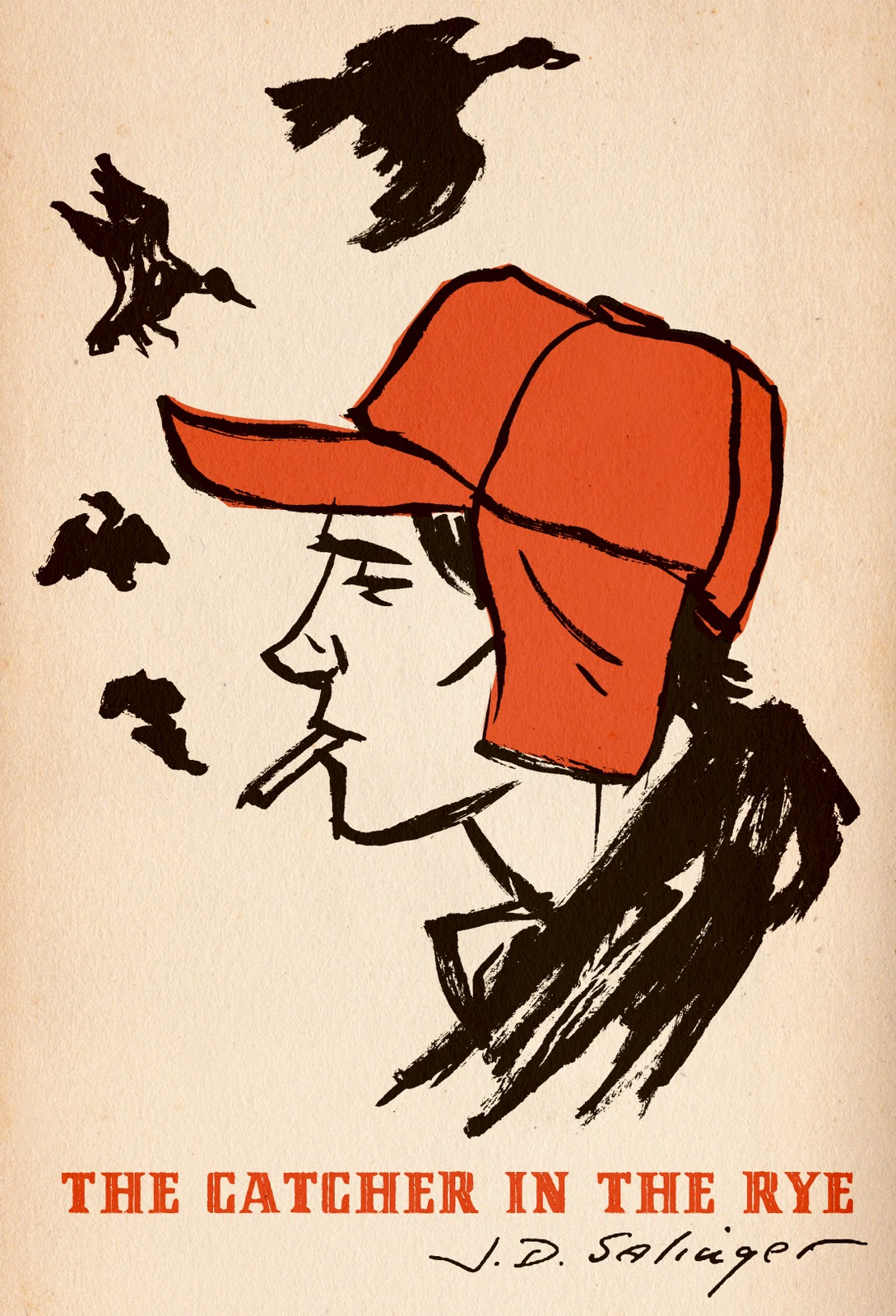 The eternal adolescent voice of The Catcher in the Rye, in one passage