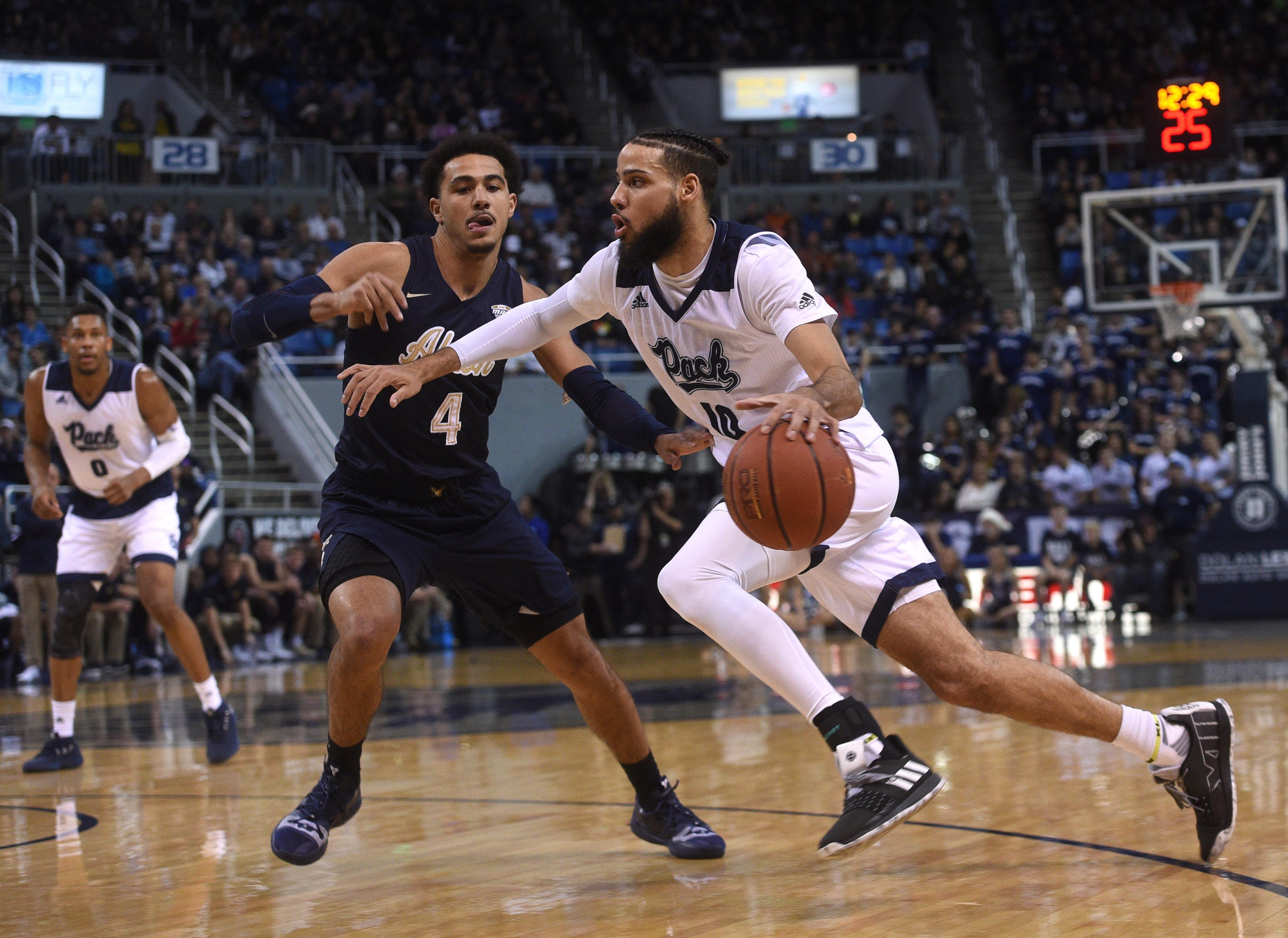 NCAA Basketball: Akron at Nevada