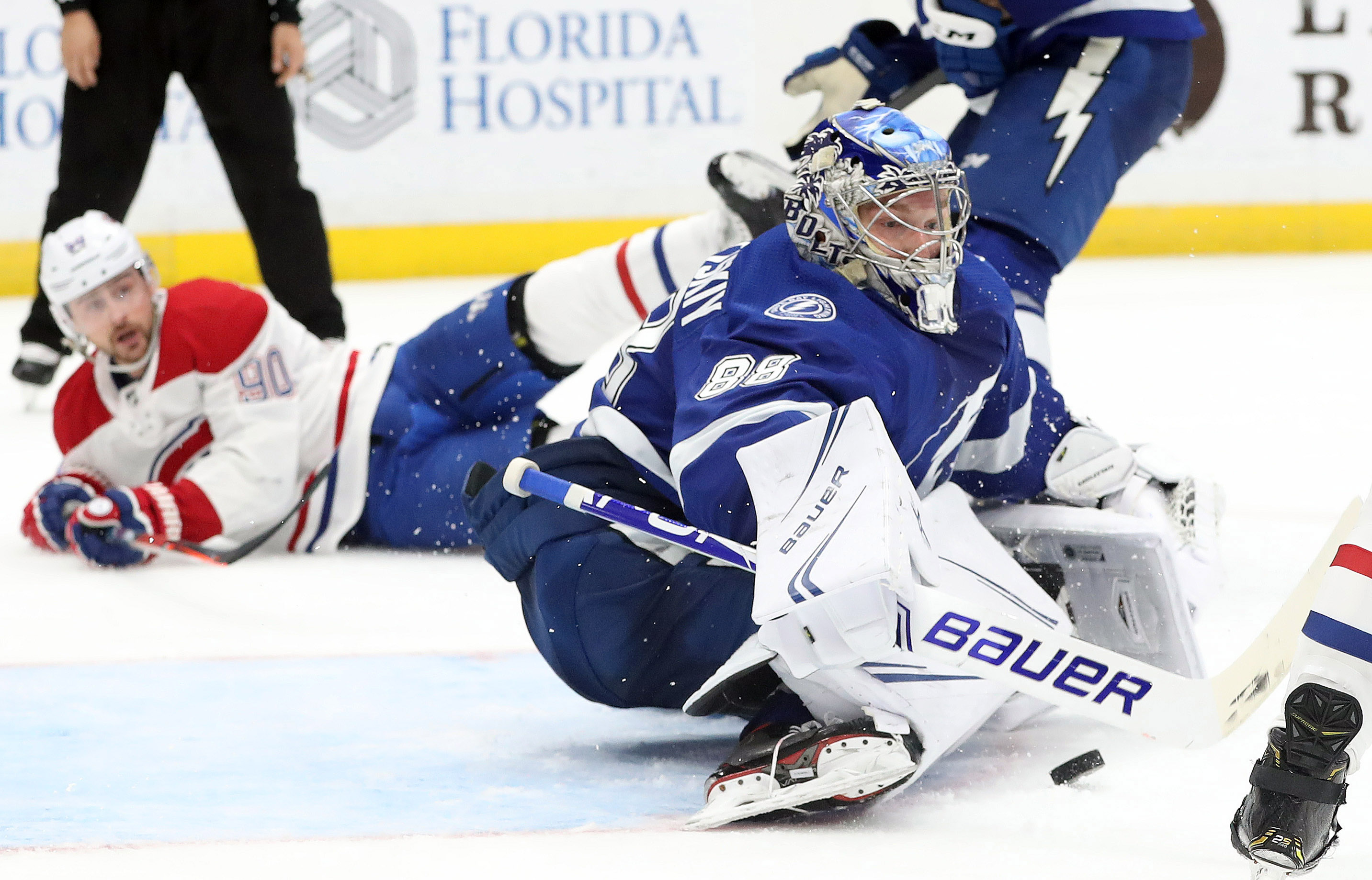 NHL: Montreal Canadiens at Tampa Bay Lightning