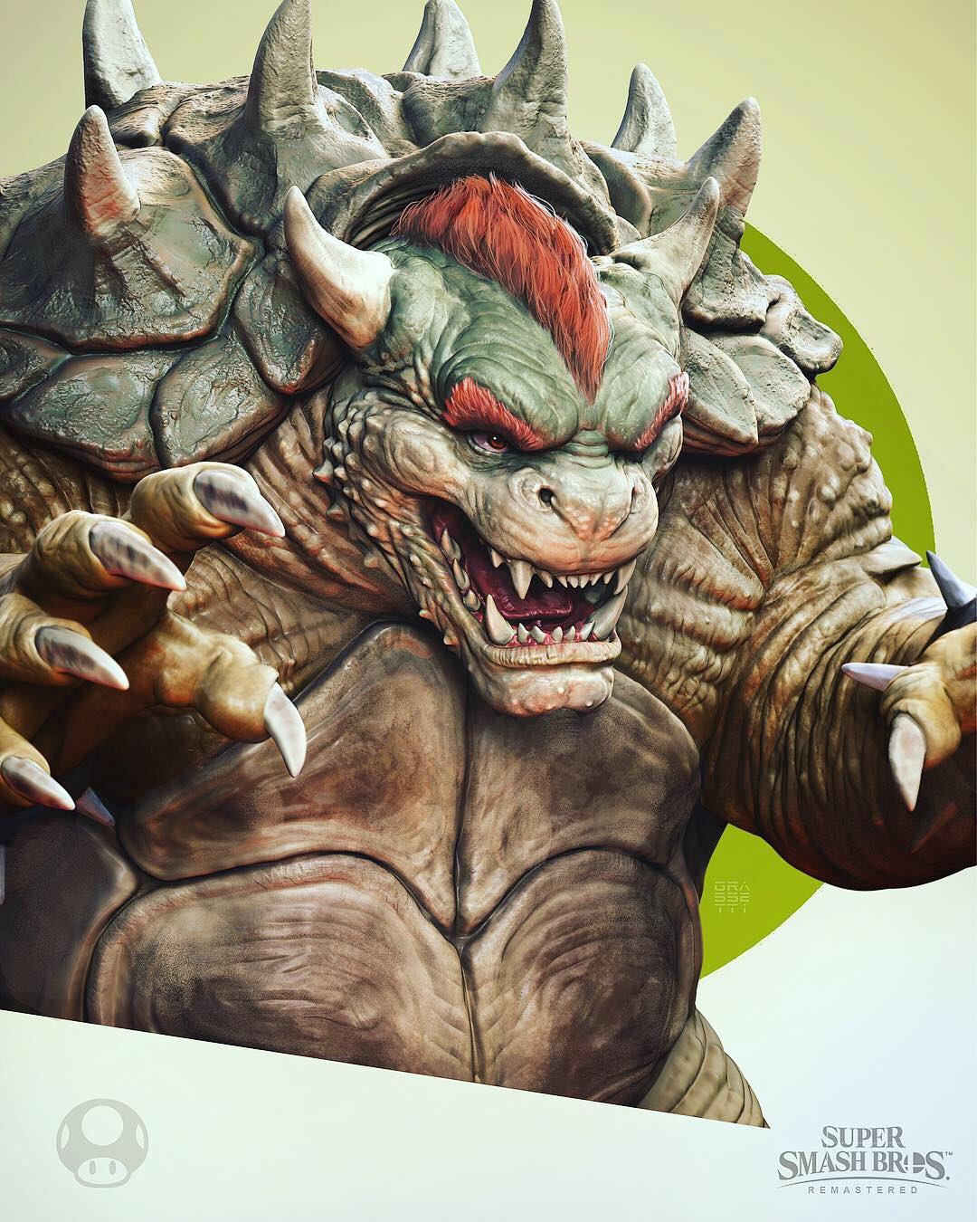 God of War art director redesigns the Smash Bros. Ultimate roster
