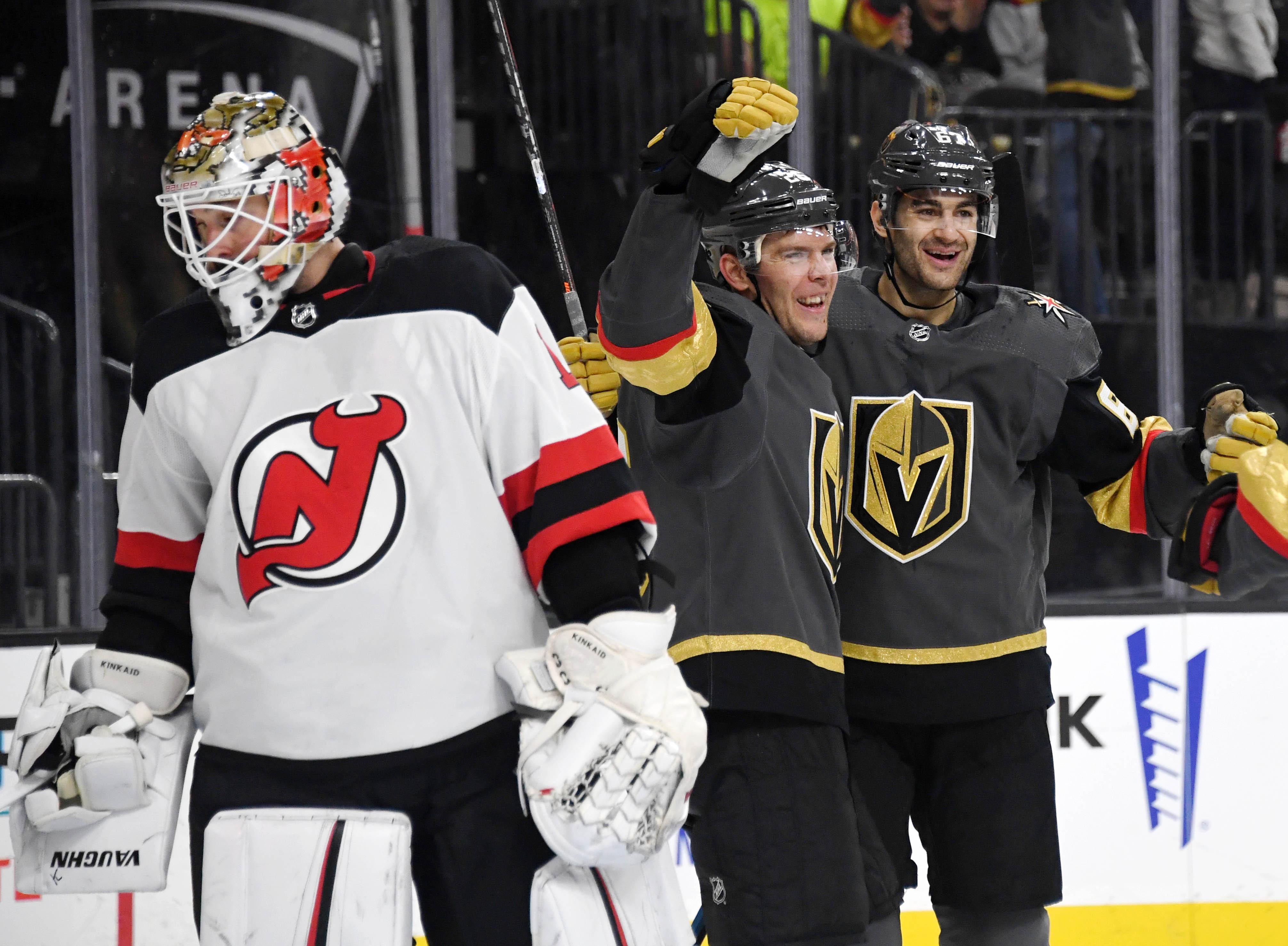New Jersey Devils v Vegas Golden Knights