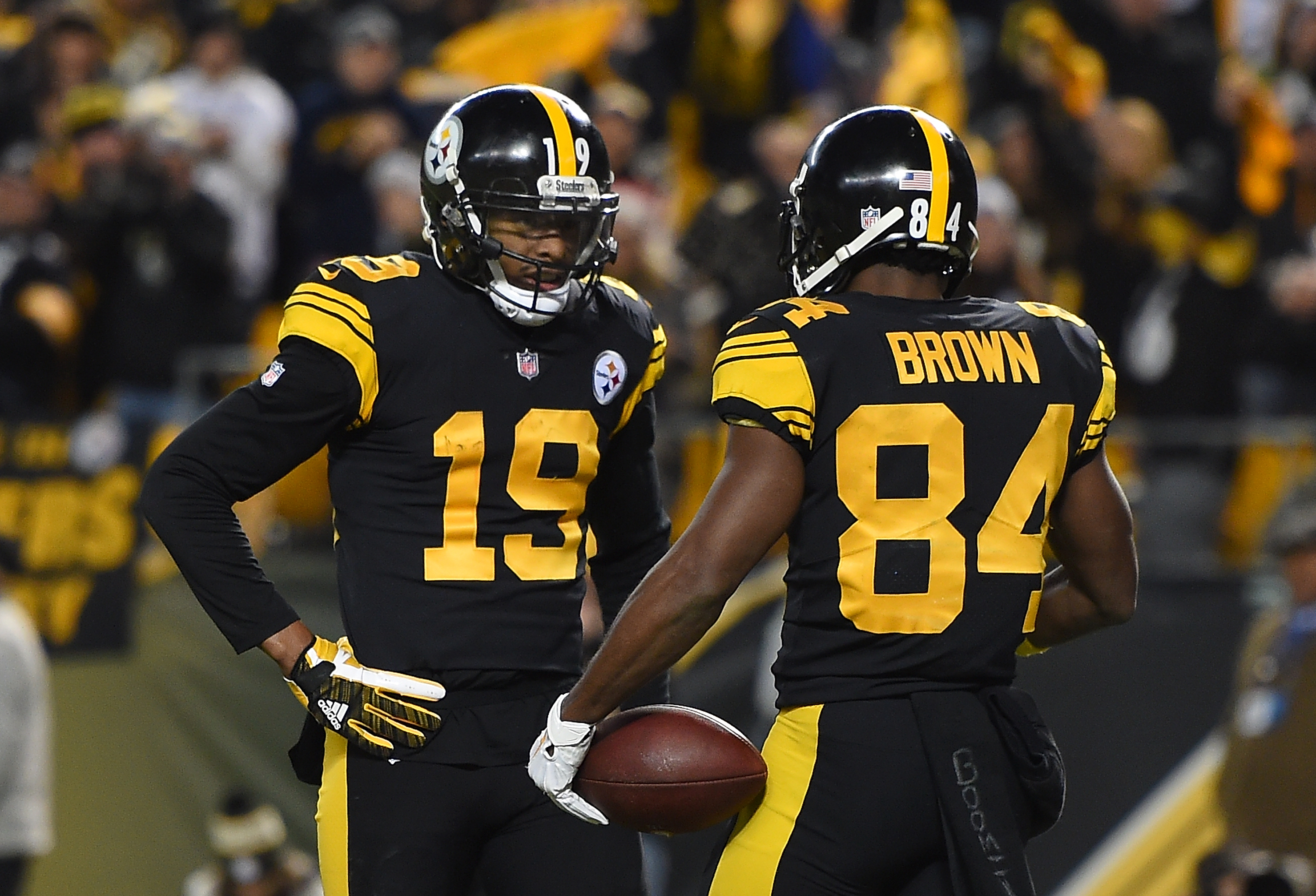 ad993144936 JuJu Smith-Schuster named to the Pro Bowl as an alternate in place of  Antonio Brown