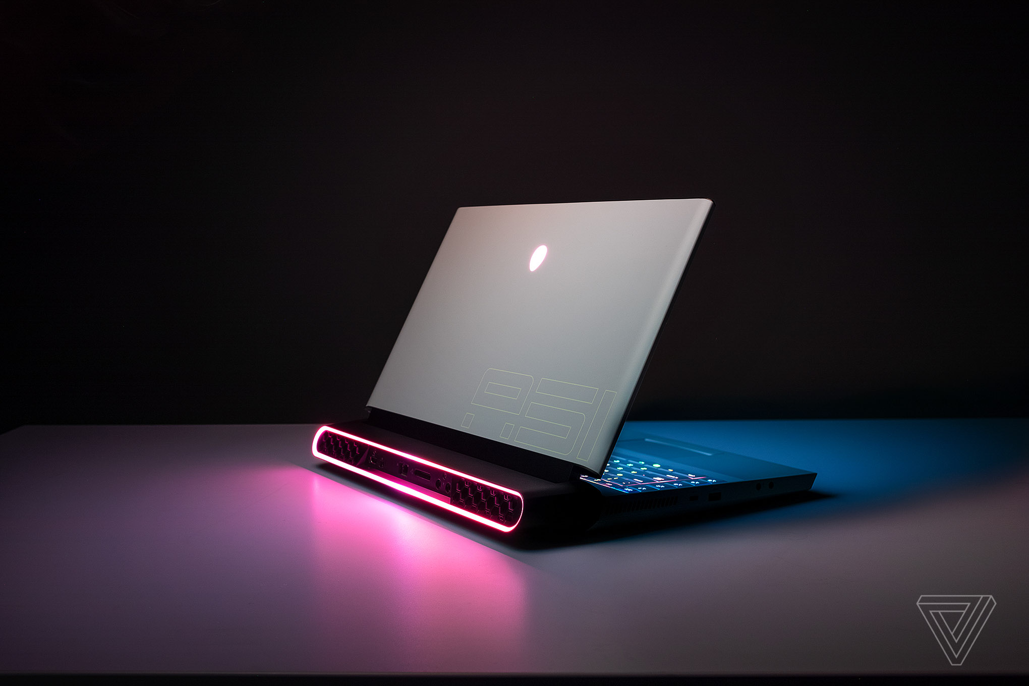 The Alienware Area-51m is a full-fledged desktop disguised