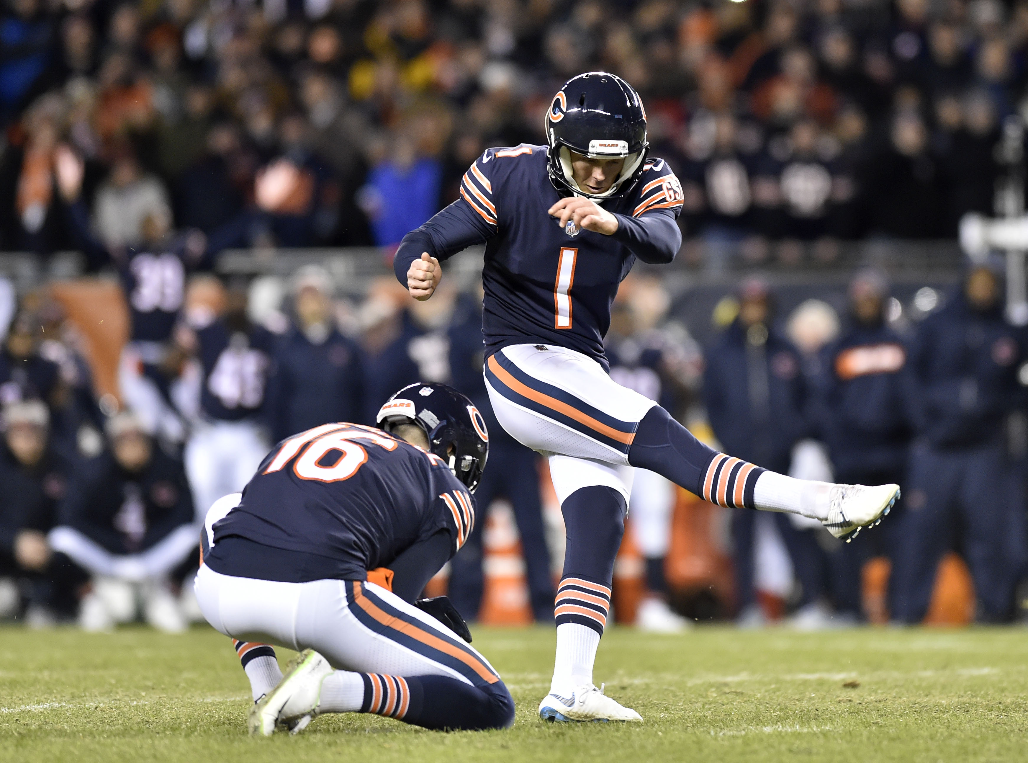 NFL: NFC Wild Card-Philadelphia Eagles at Chicago Bears