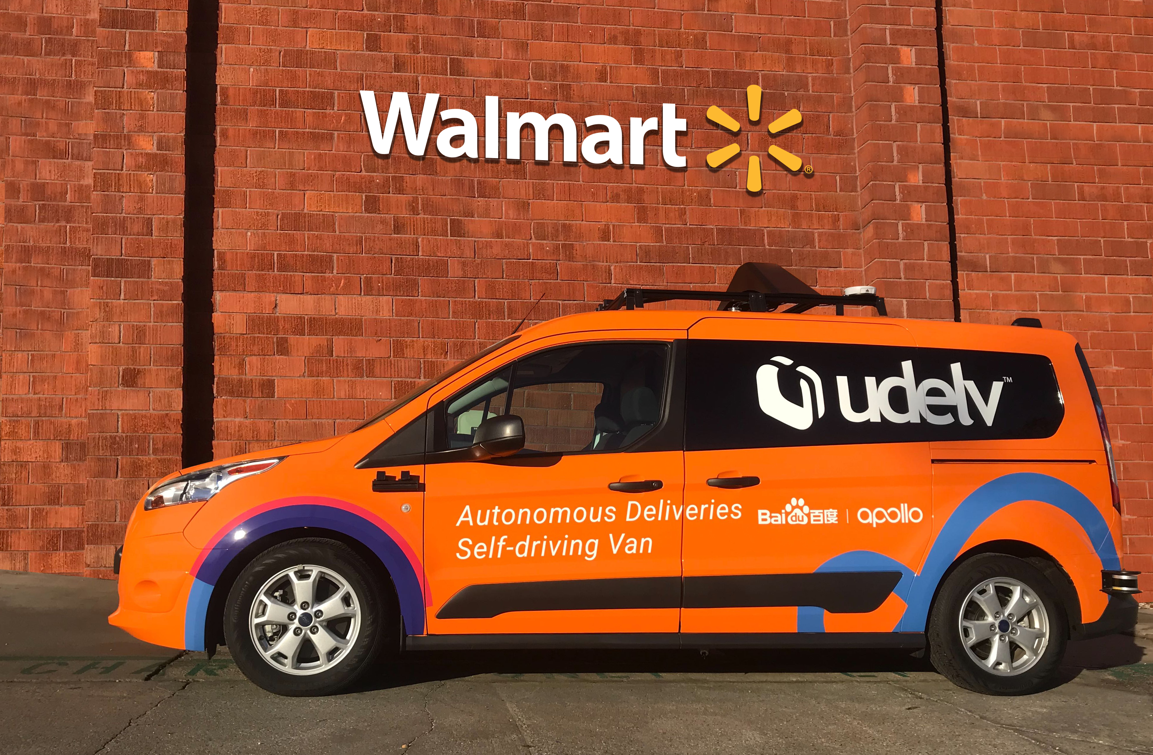 Robot delivery startup Udelv partners with Walmart and Baidu