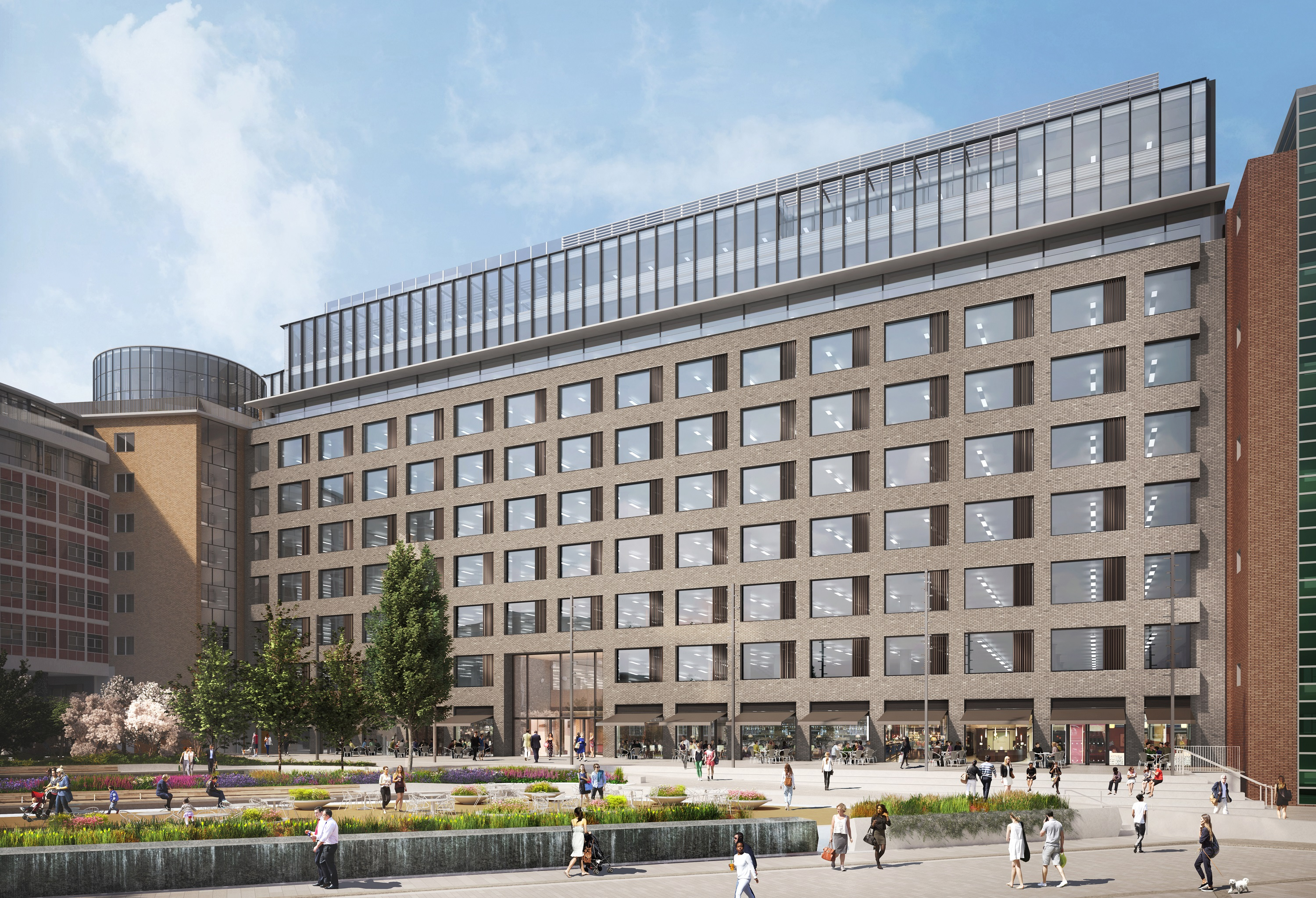 White City BBC Television Centre is the venue for London's latest restaurant hall and food court