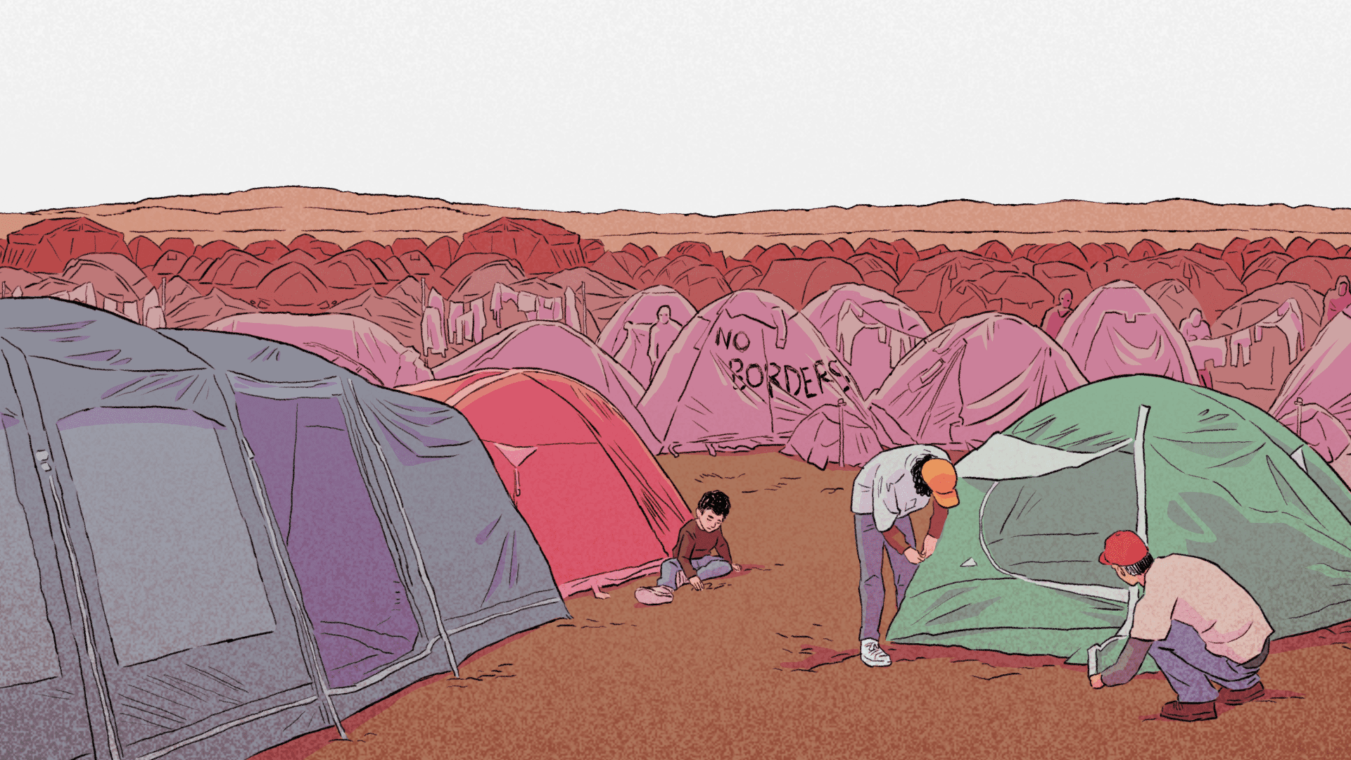 Bury Me, My Love is the stirring story of a refugee's dangerous journey