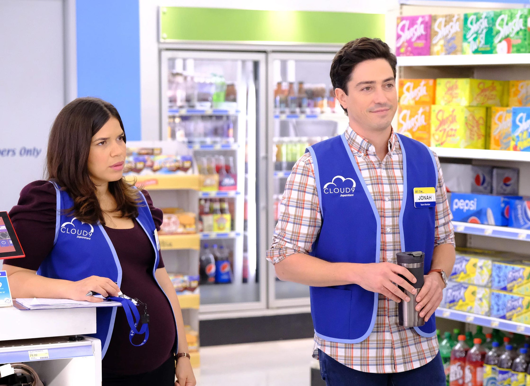 Superstore 401 - Amy and Jonah
