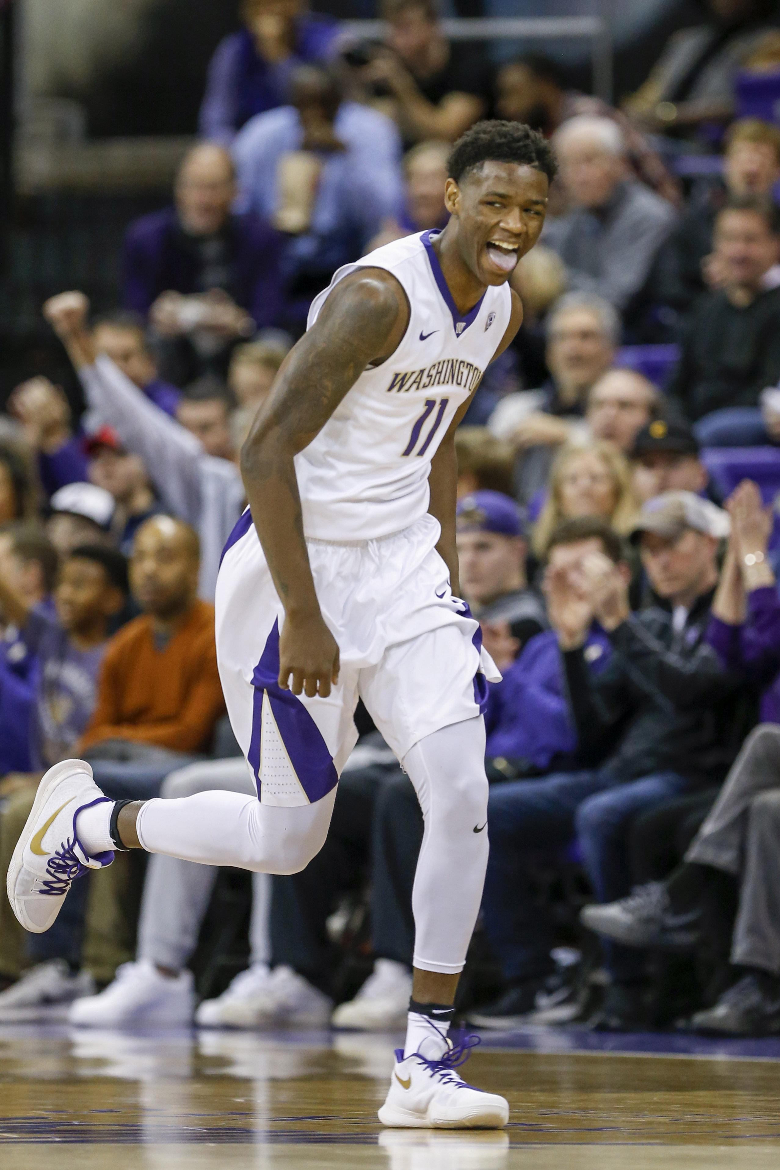 NCAA Basketball: Washington State at Washington