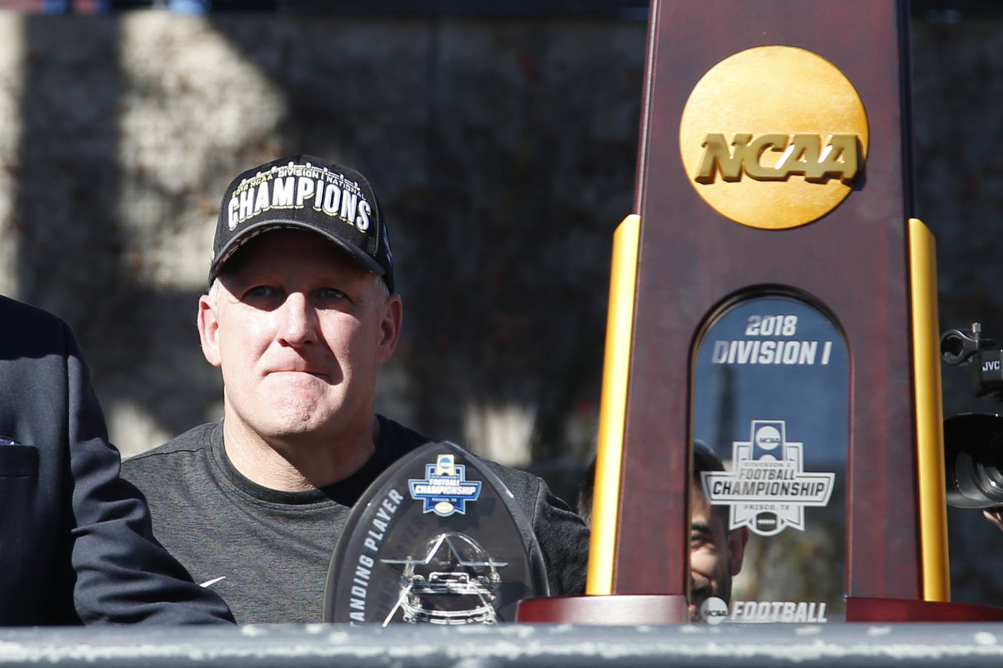 For an alleged fallback guy, Chris Klieman's staff decisions sure look independent.