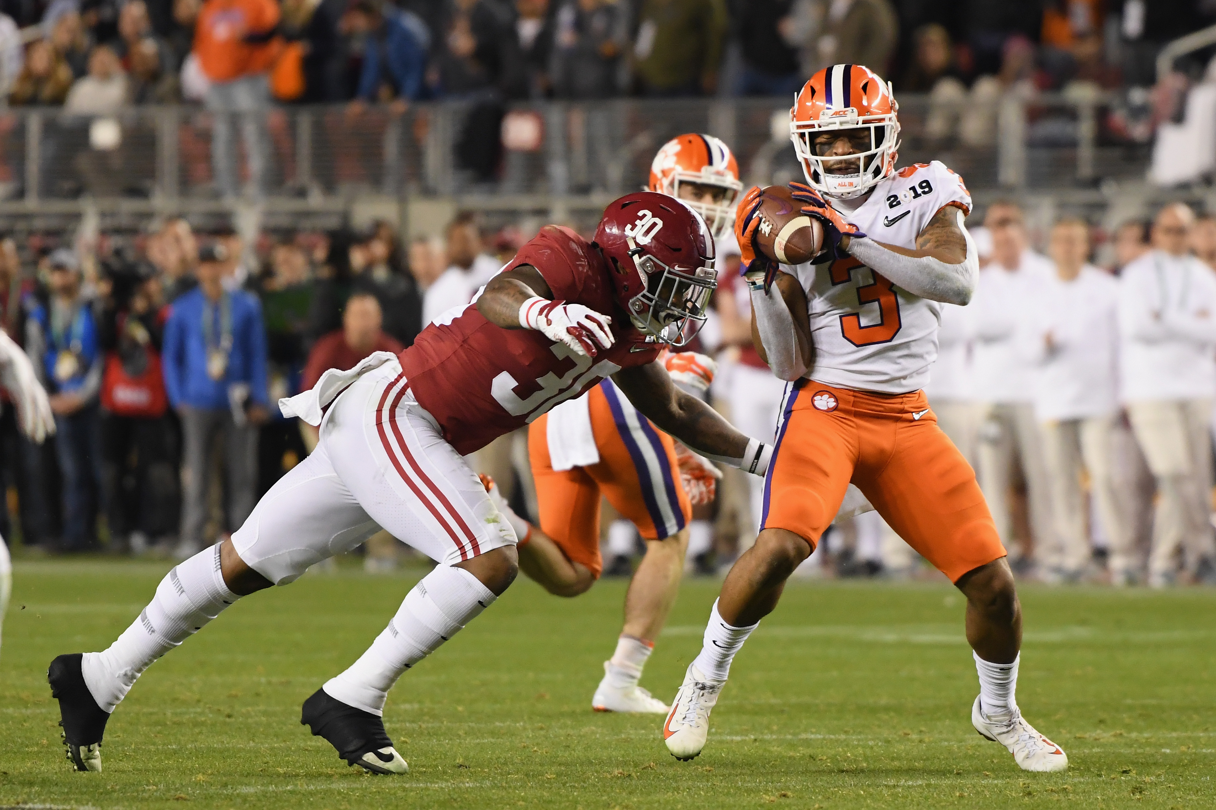 """<p zoompage-fontsize=""""15"""" style="""""""">College Football Playoff National Championship Presented By AT&amp;T - Alabama v Clemson"""
