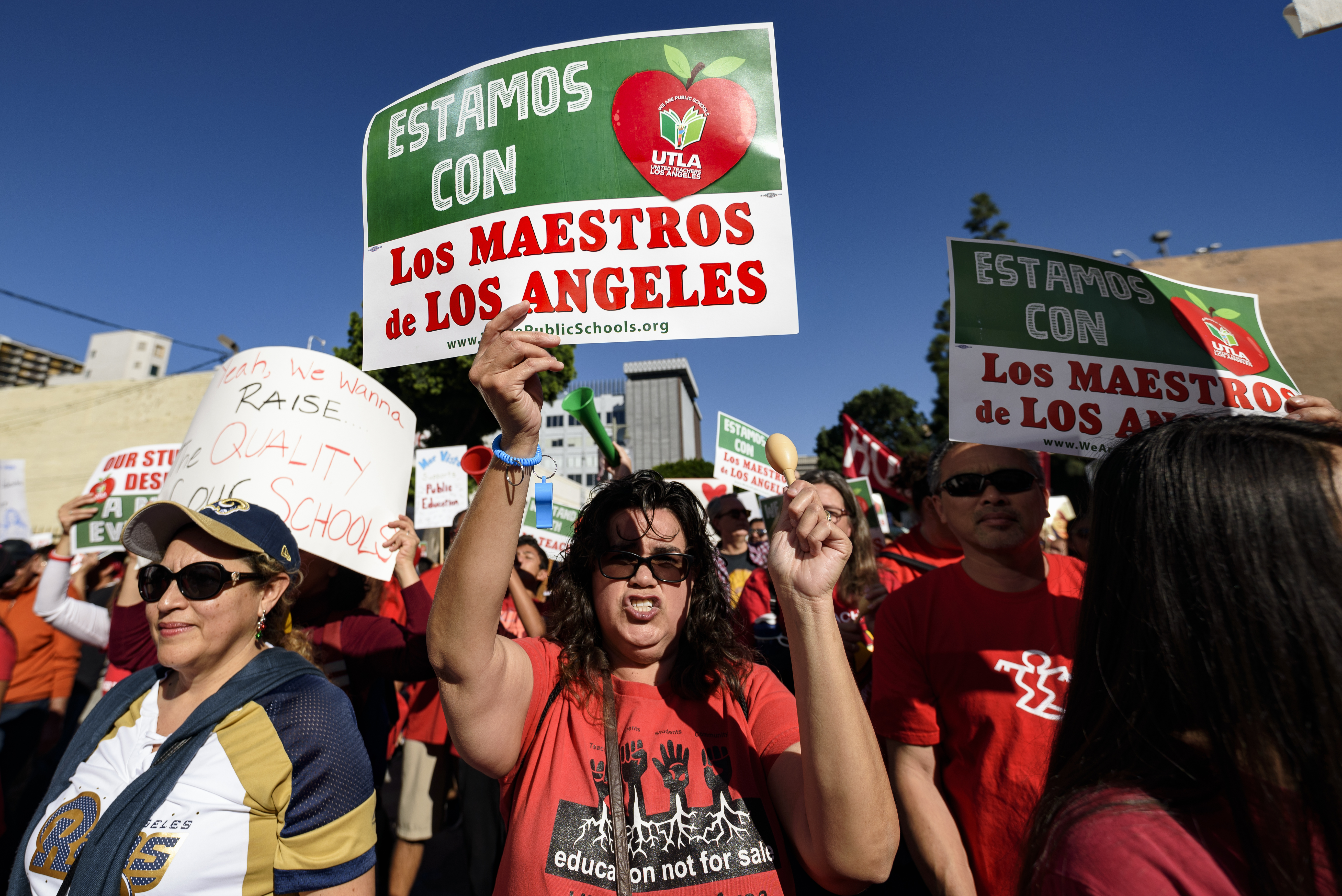 Why thousands of Los Angeles teachers are going on strike