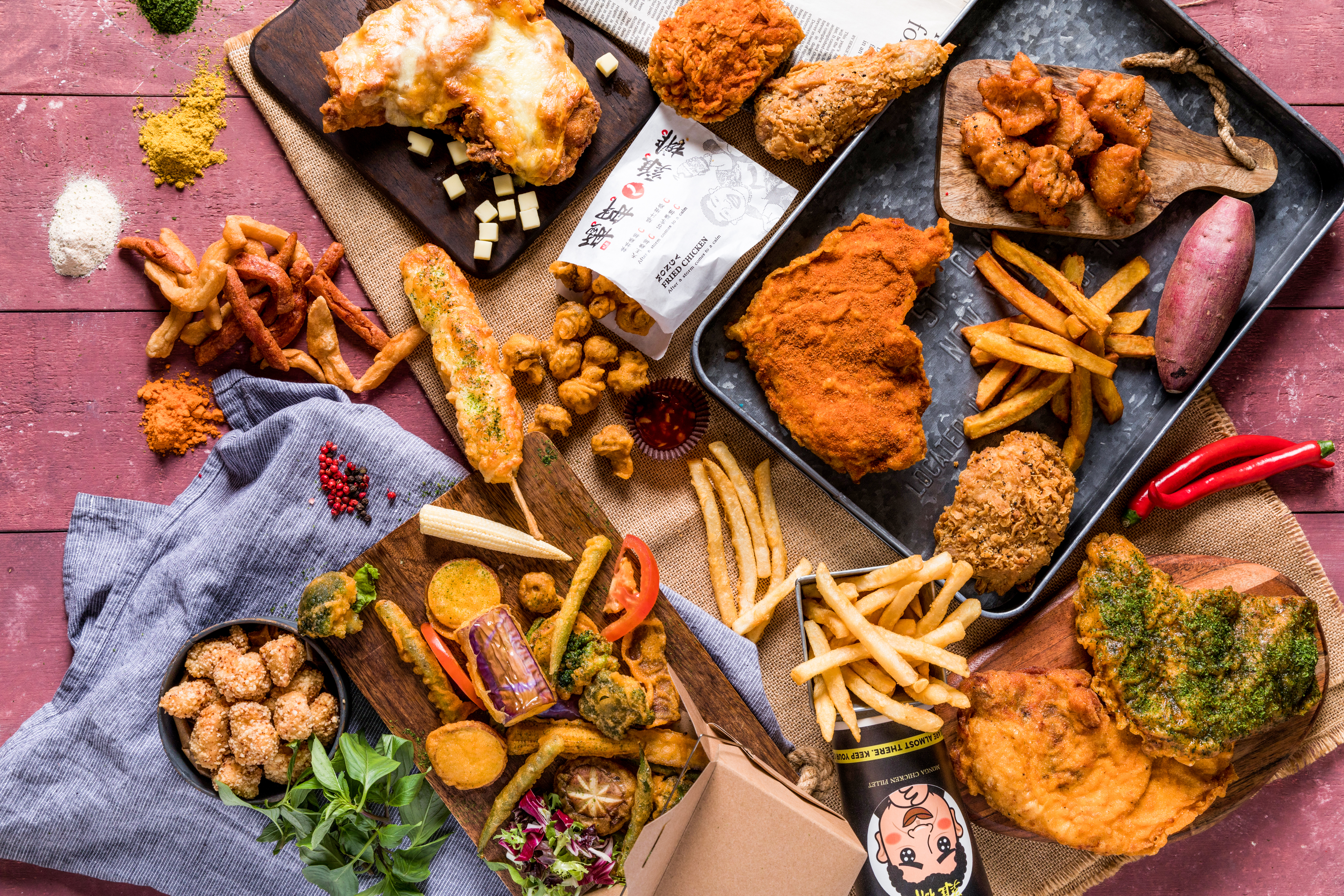 Ahead of Chinese New Year, Monga Fried Chicken will mark its European debut when it open son Macclesfield Street in London's Chinatown this month