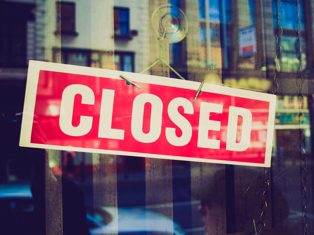 These Restaurants Closed in 2019