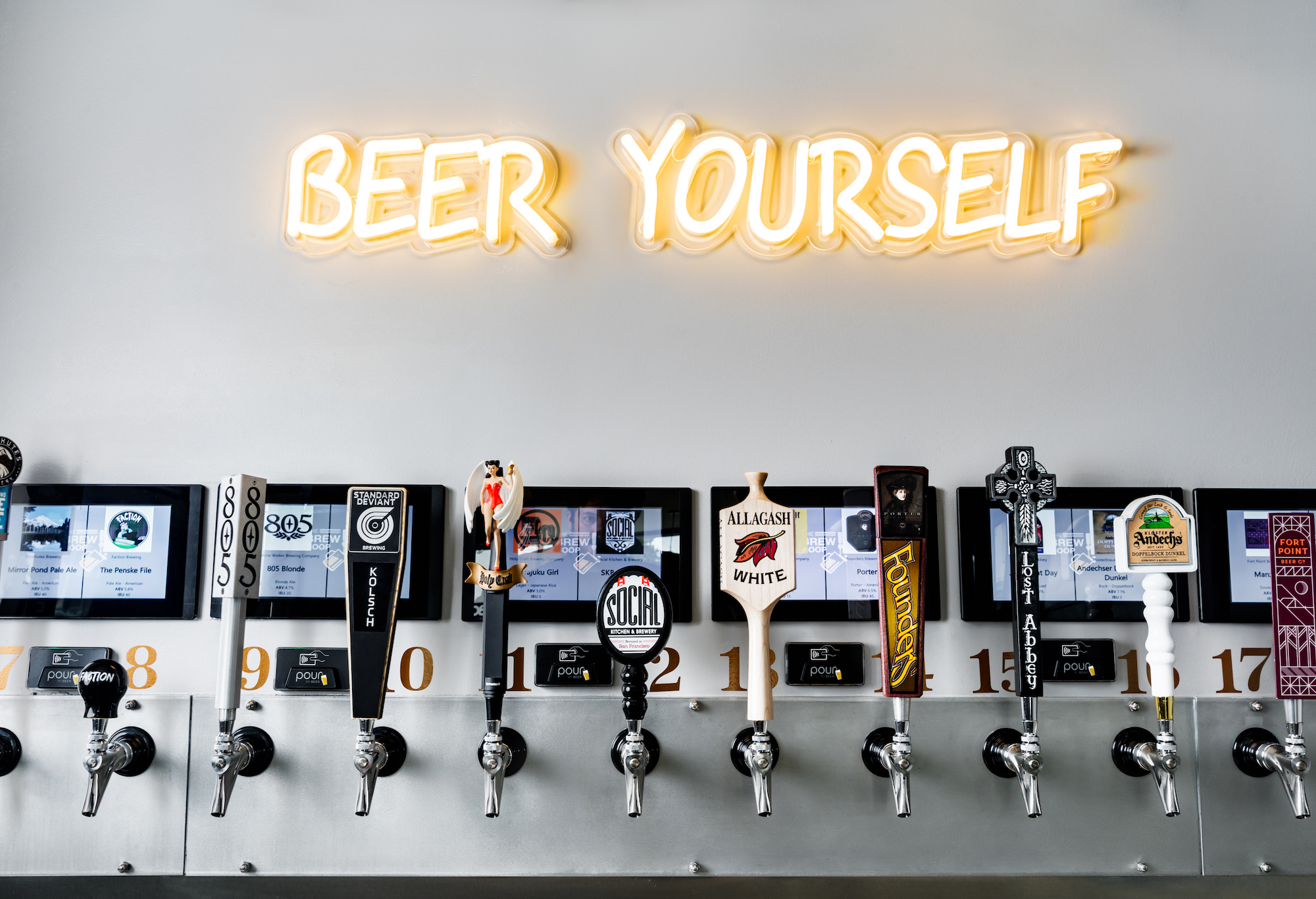 Be Your Own Bartender at a New Taproom and Sports Bar in the Mission