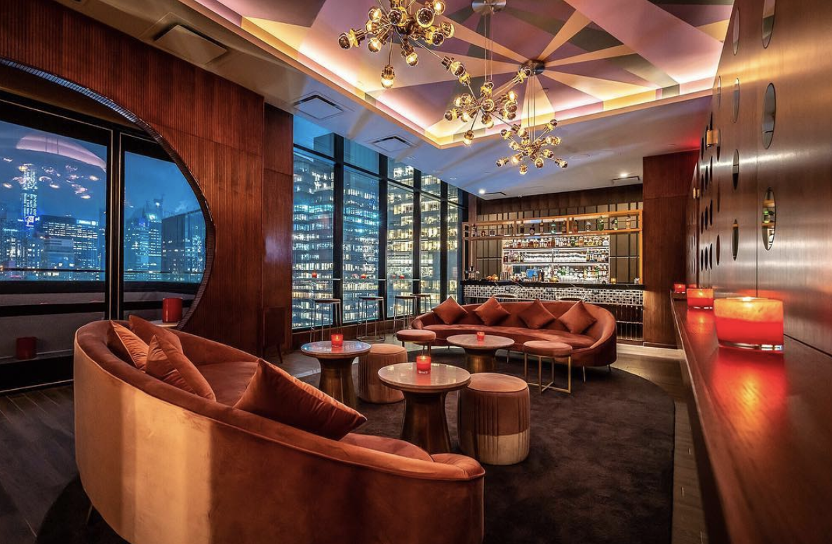 Cocktail Masters of Dear Irving Open a James Bond-Style Bar With a View