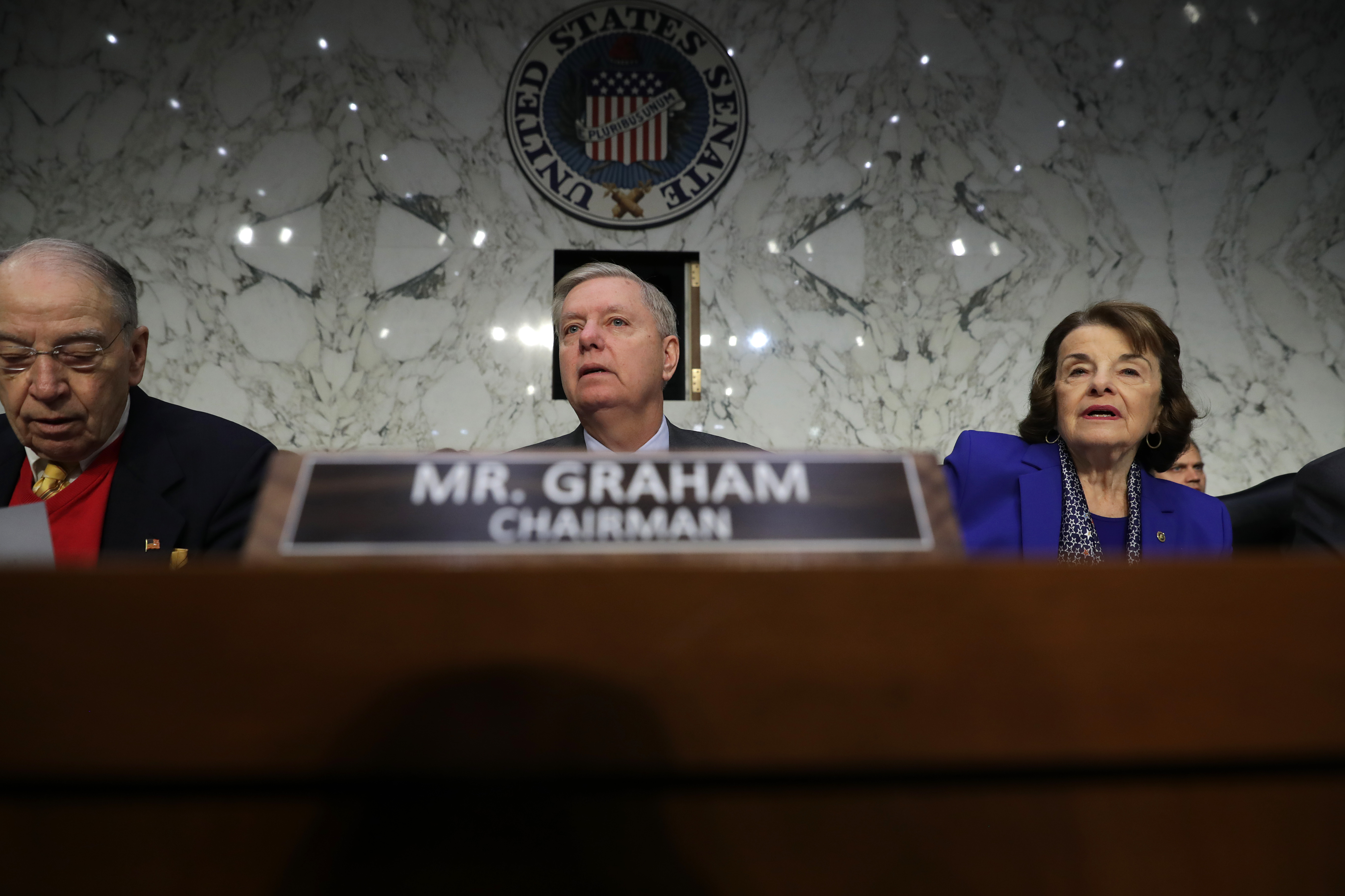 Lindsey Graham asks about debunked right-wing conspiracies in William Barr hearing
