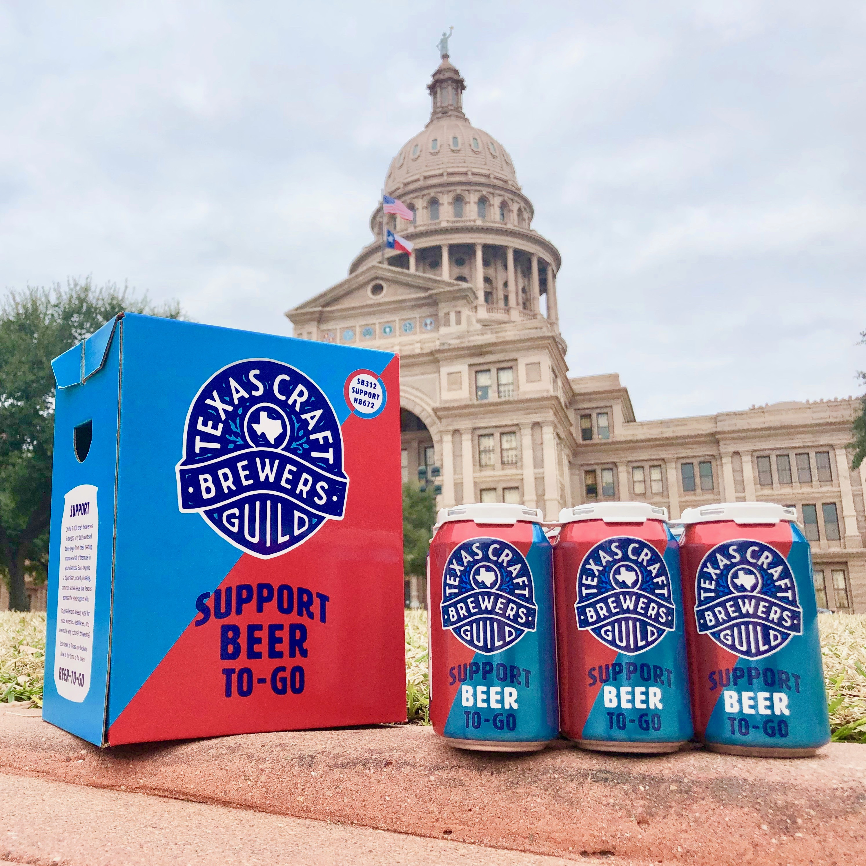Texas Craft Brewers Guild beers at the Capitol