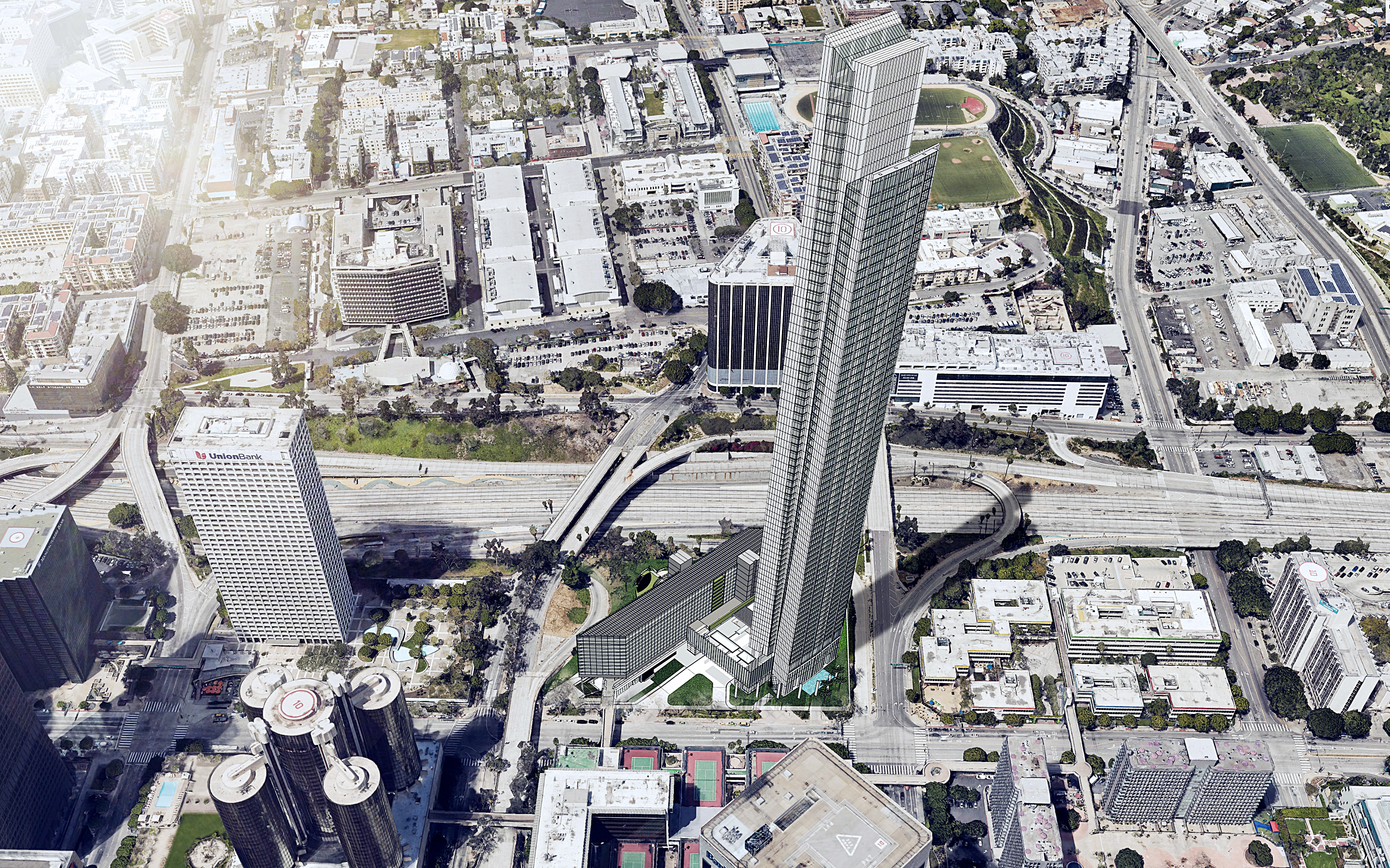 Plans to build LA's new tallest tower on Bunker Hill moving forward