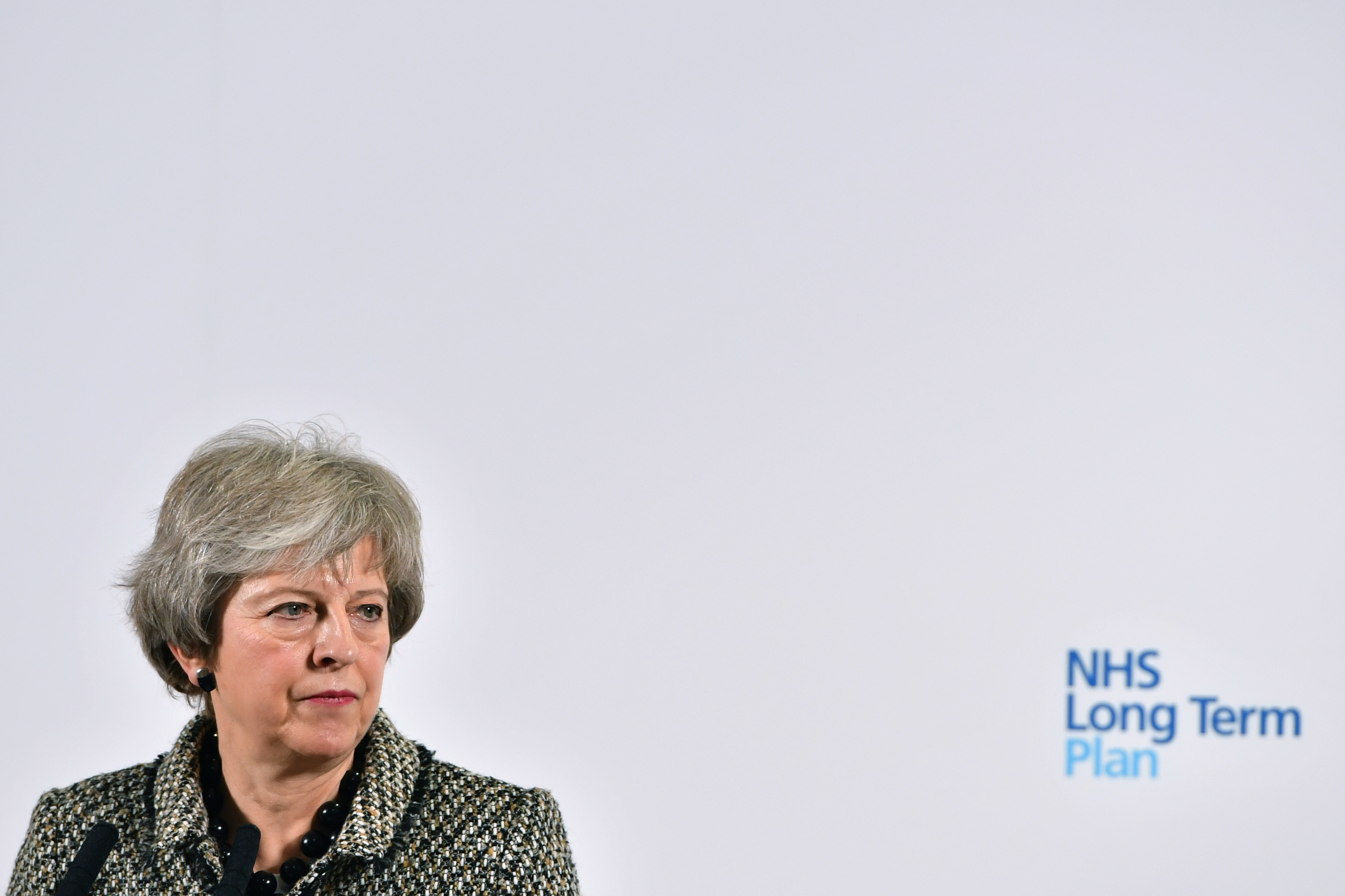 Theresa May lost the Brexit vote because Brexit was a lie