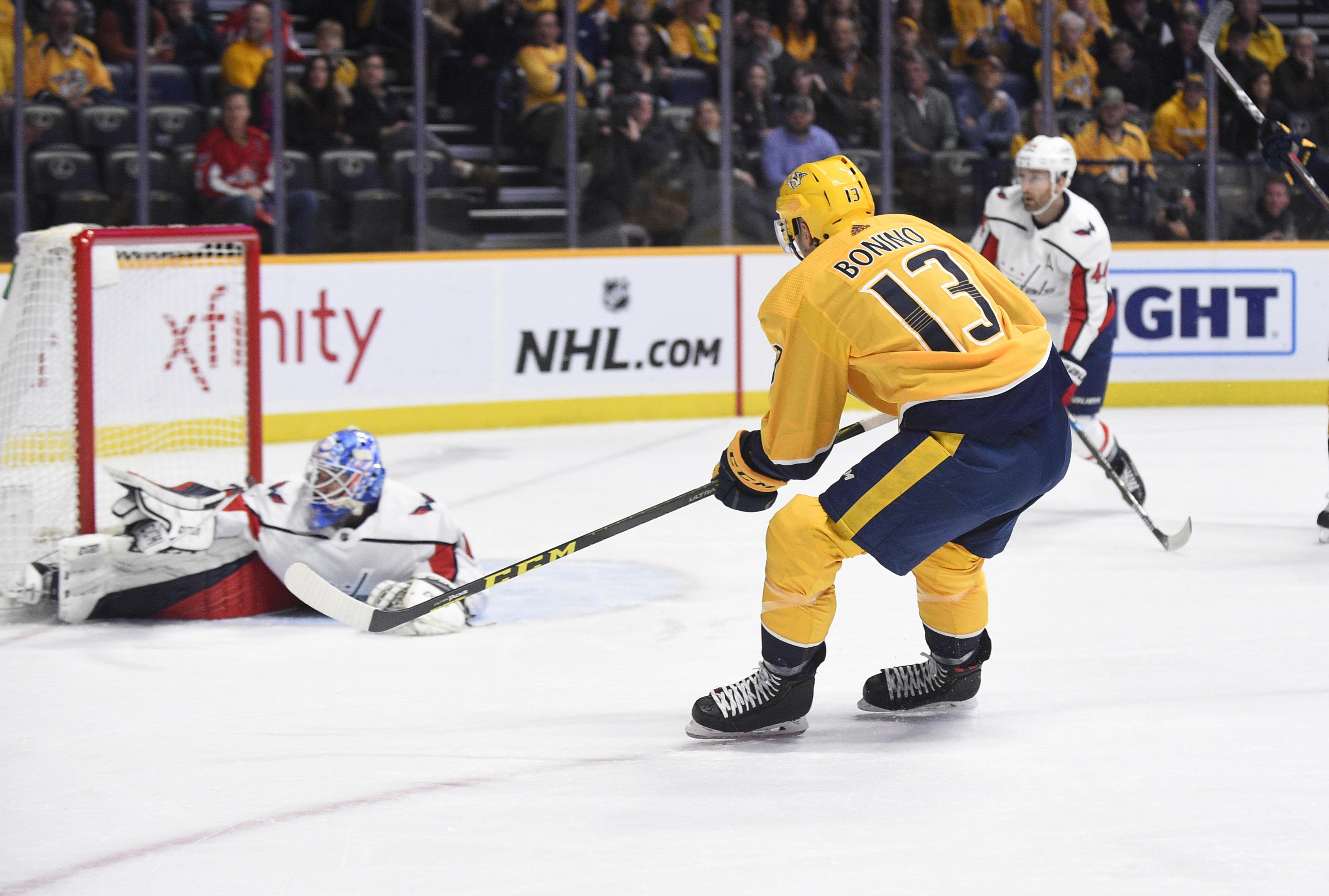 Capitals vs. Predators Recap  Nashville Preys On Washington s Sluggish Play  For 7-2 Victory c84f44b1773e