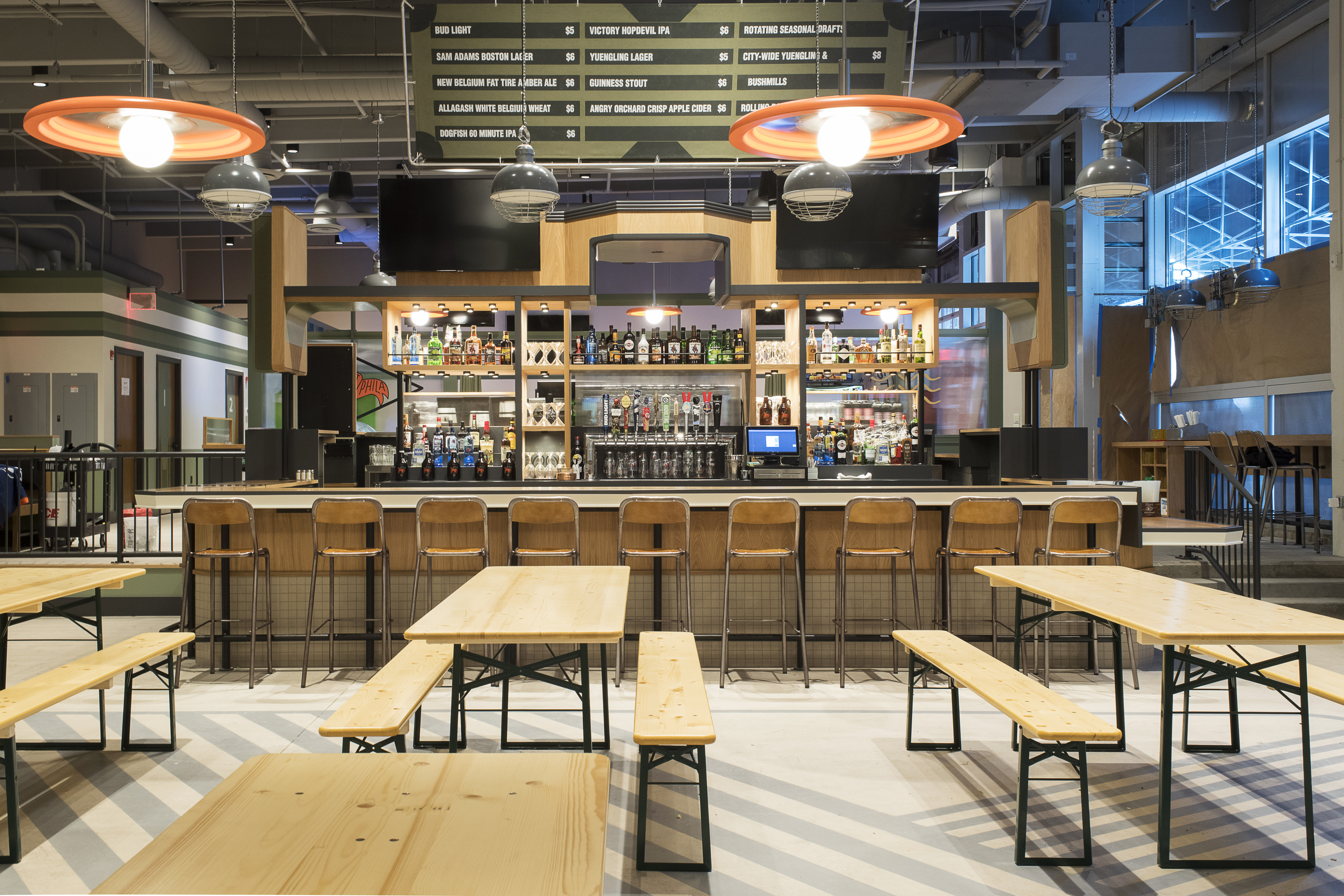 Arcade Games and Beer Are the Draw at University City's Big New Bar