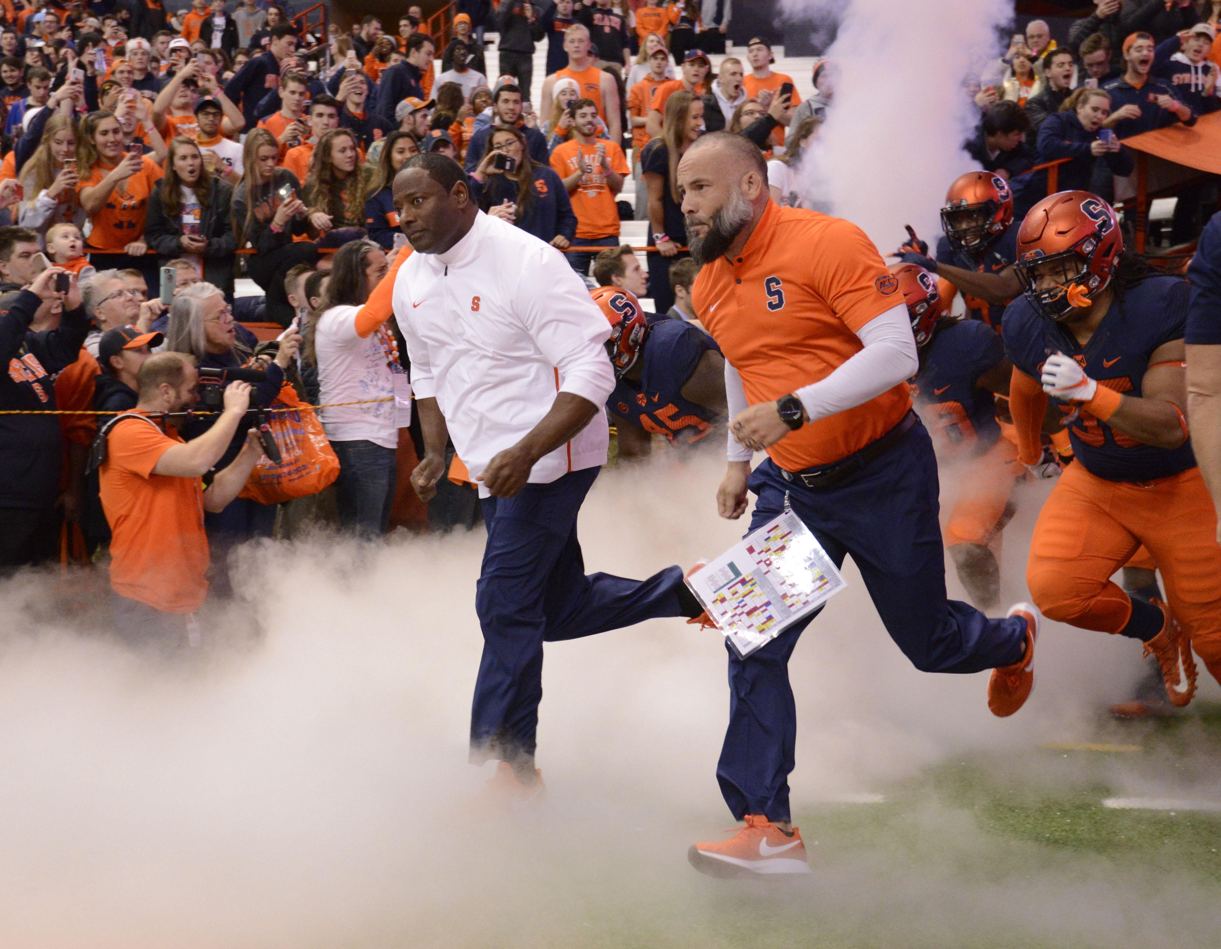 NCAA Football: Louisville at Syracuse