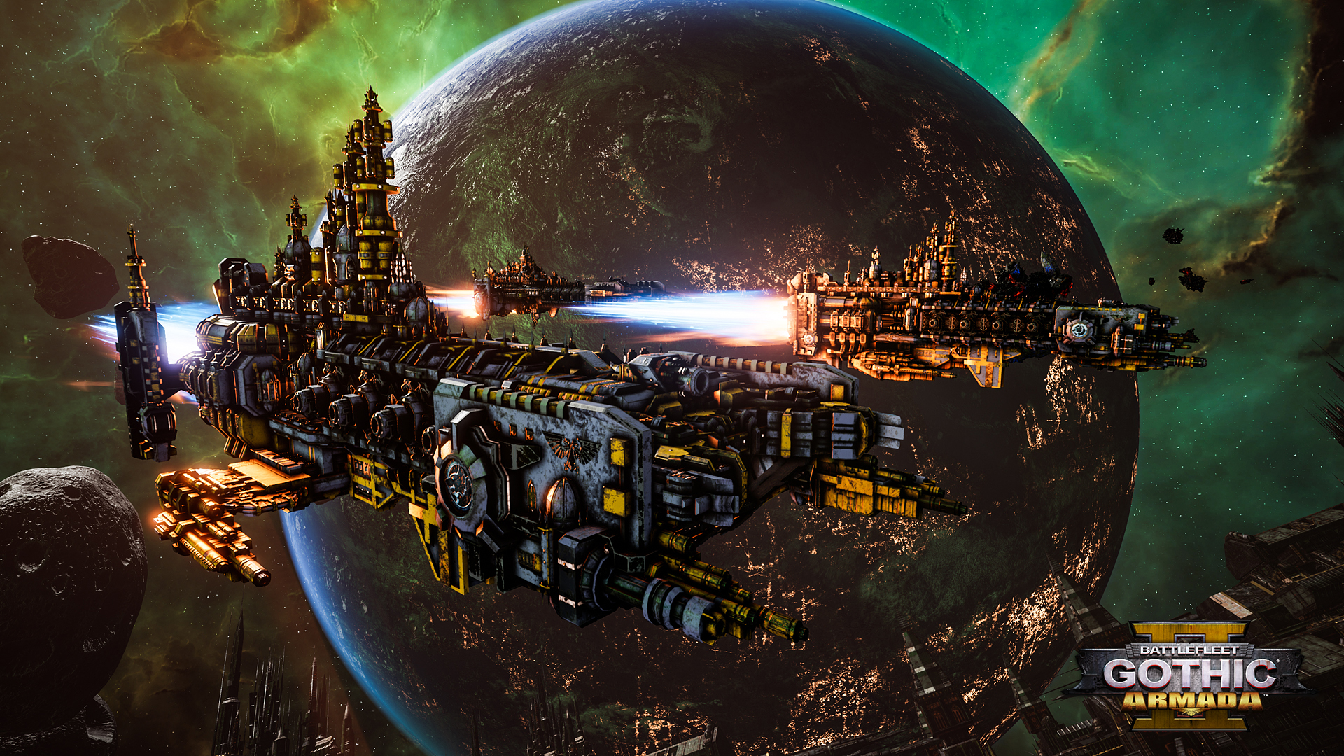 Battlefleet Gothic: Armada 2 is Warhammer 40,000 played at the most epic scale yet