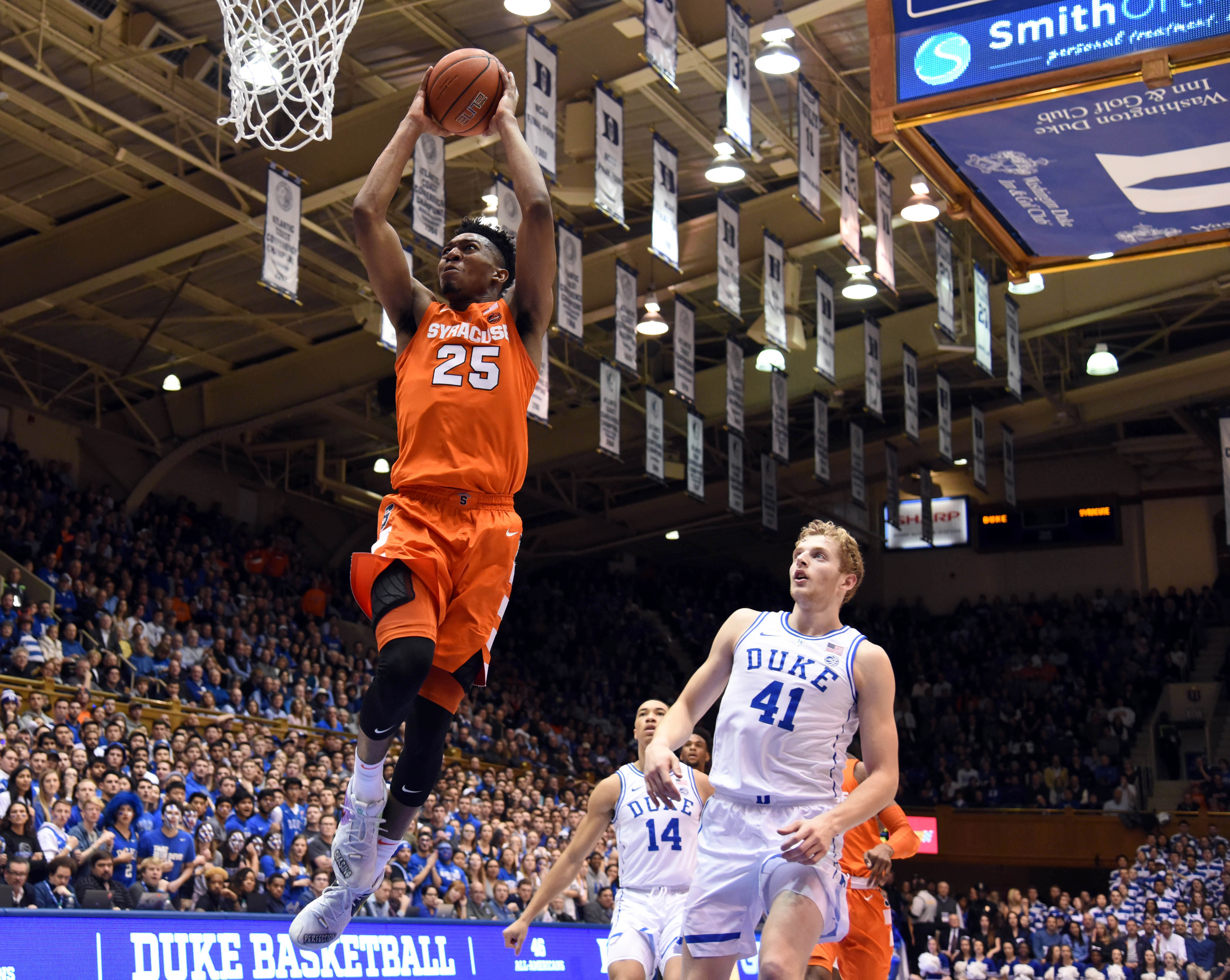 f6e84429046a Syracuse didn t panic in overtime win against Duke in Cameron